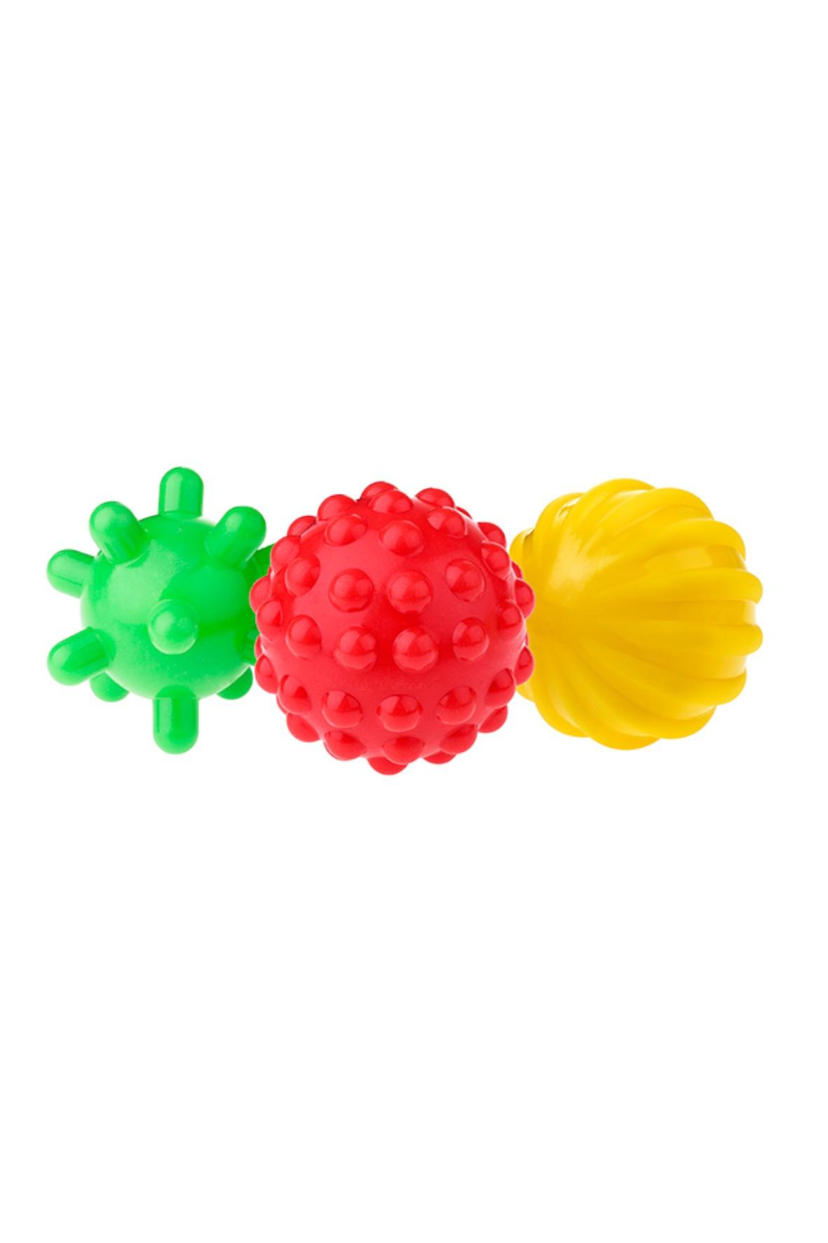 Piłki sensoryczne- zabawka dla dziecka 3 szt