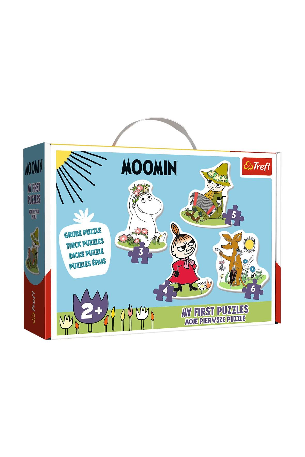 Puzzle Trefl Baby Classic - Wesołe Muminki wiek 2+