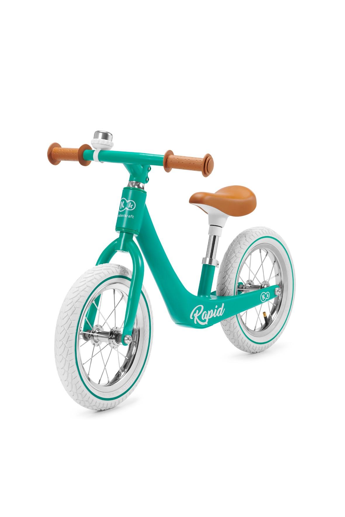 Rowerek biegowy Kinderkraft RAPID Midnight Green 24msc+