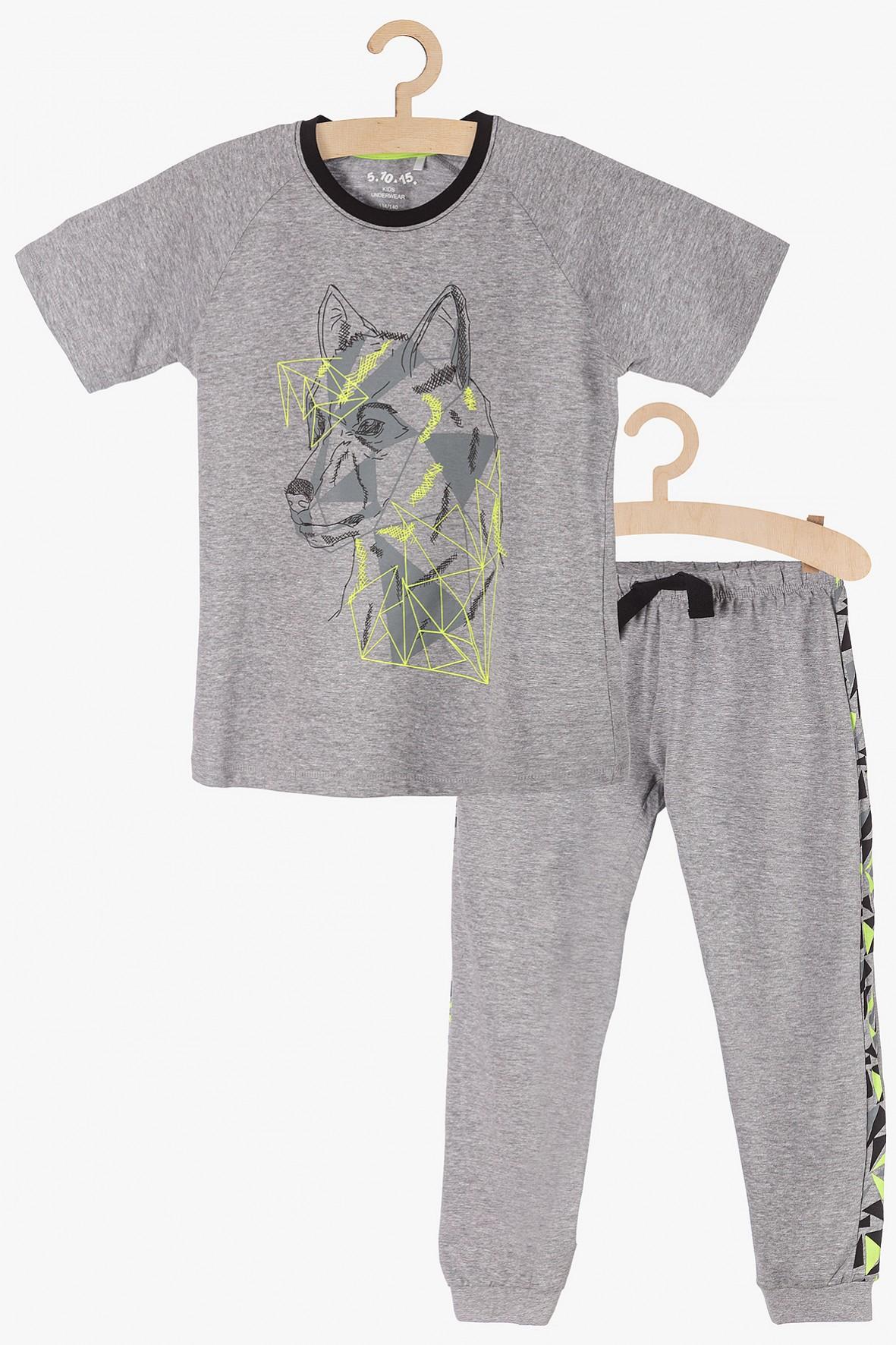Piżama chłopięca dwuczęściowa