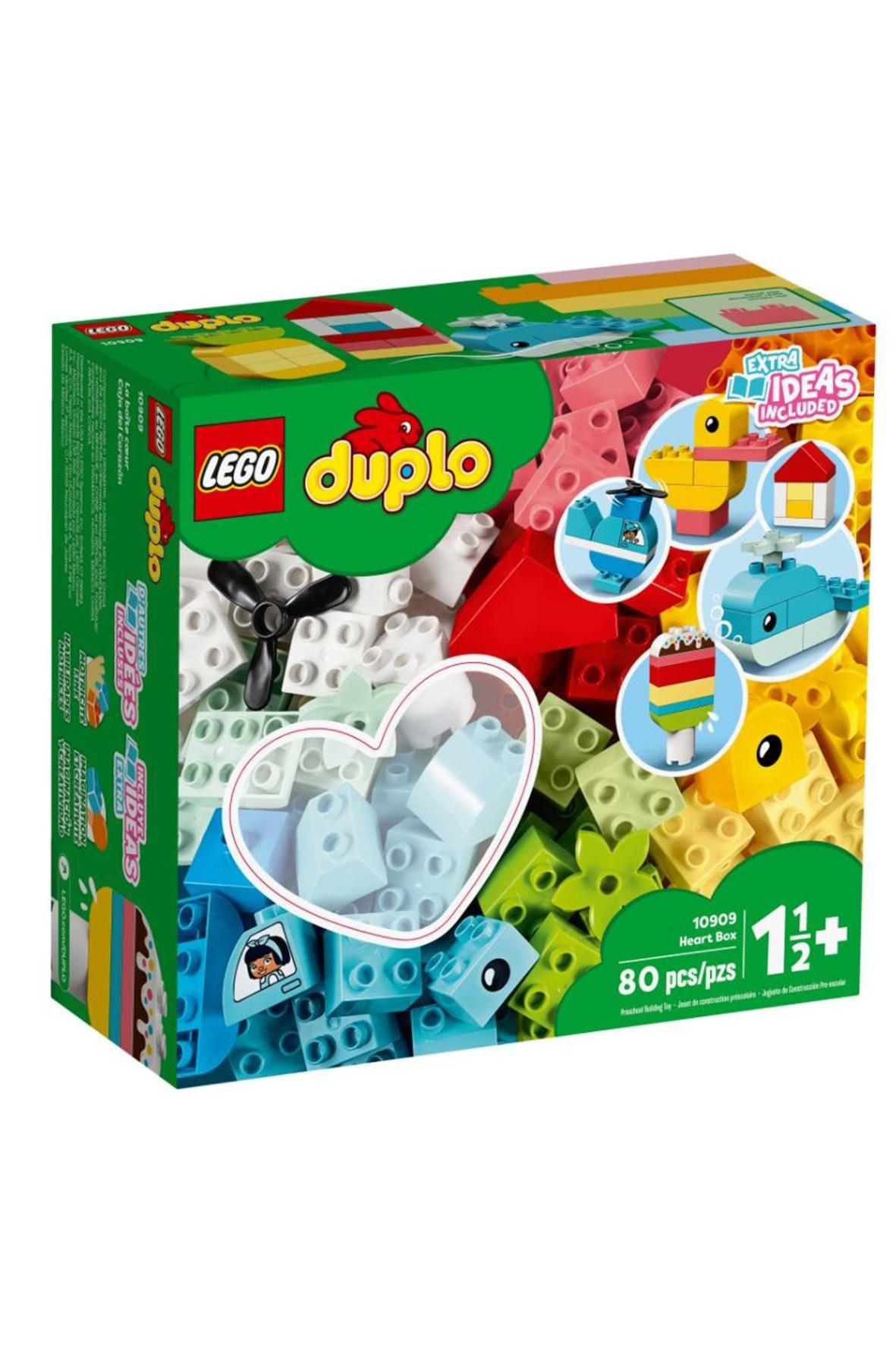 Lego DUPLO -  Pudełko z serduszkiem  - 80 elementów wiek 18msc+