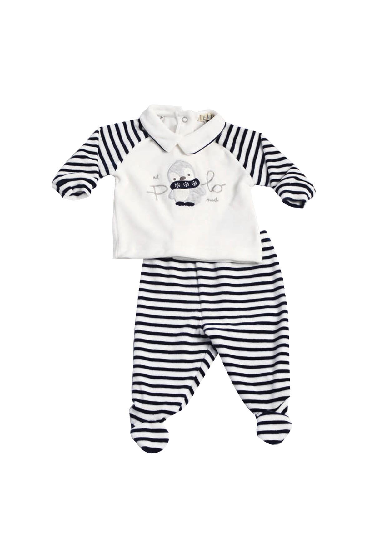 Komplet niemowlęcy bluzka+spodnie