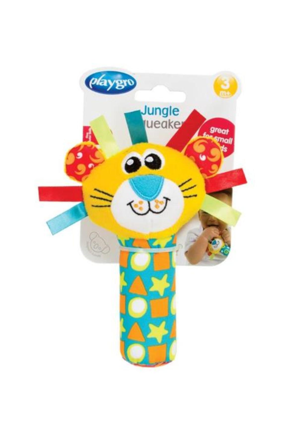 Piszczek Lew- zabawka dla dziecka 0msc+