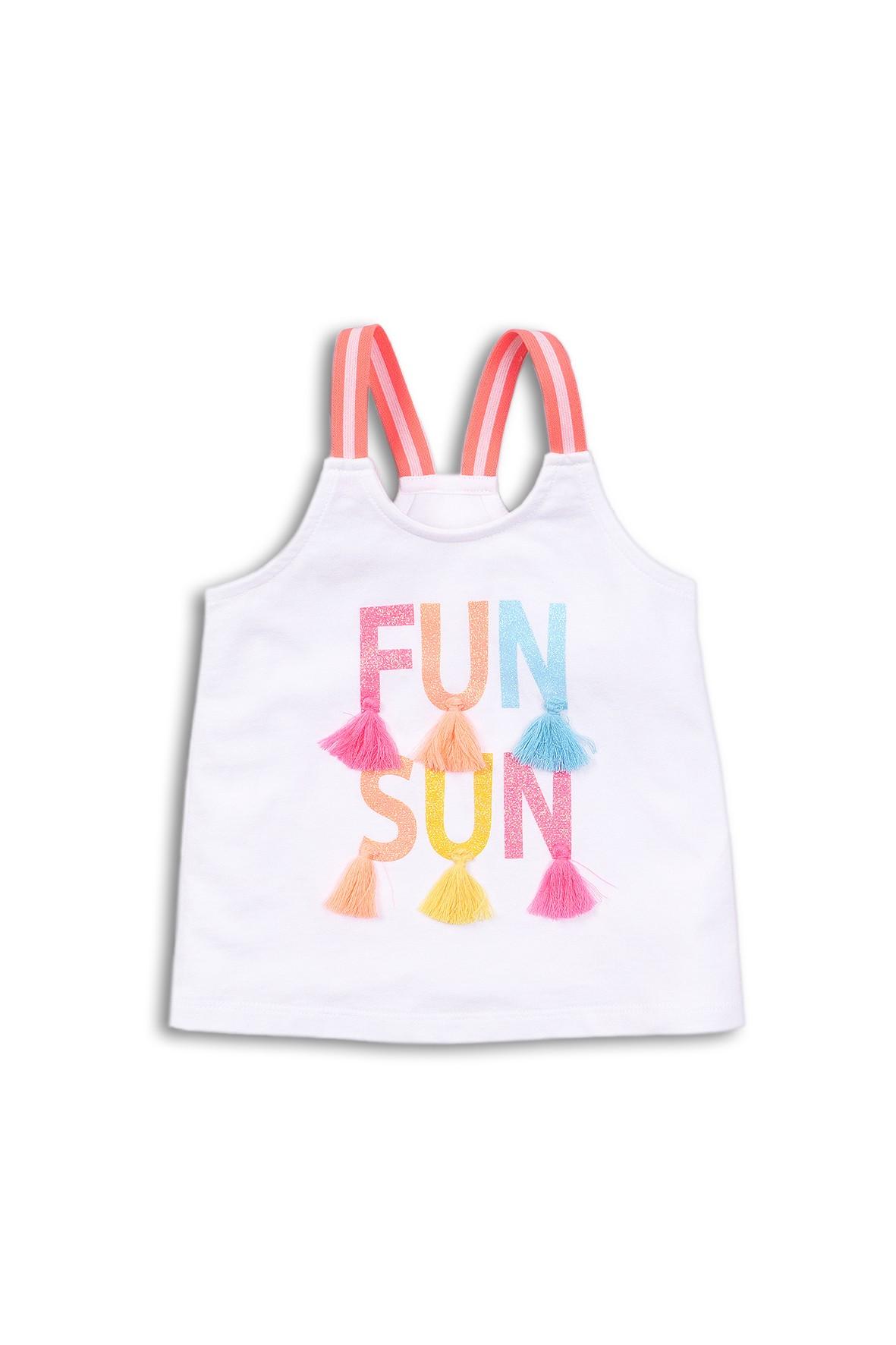 Bluzka na ramiączka niemowlęca - FunSun