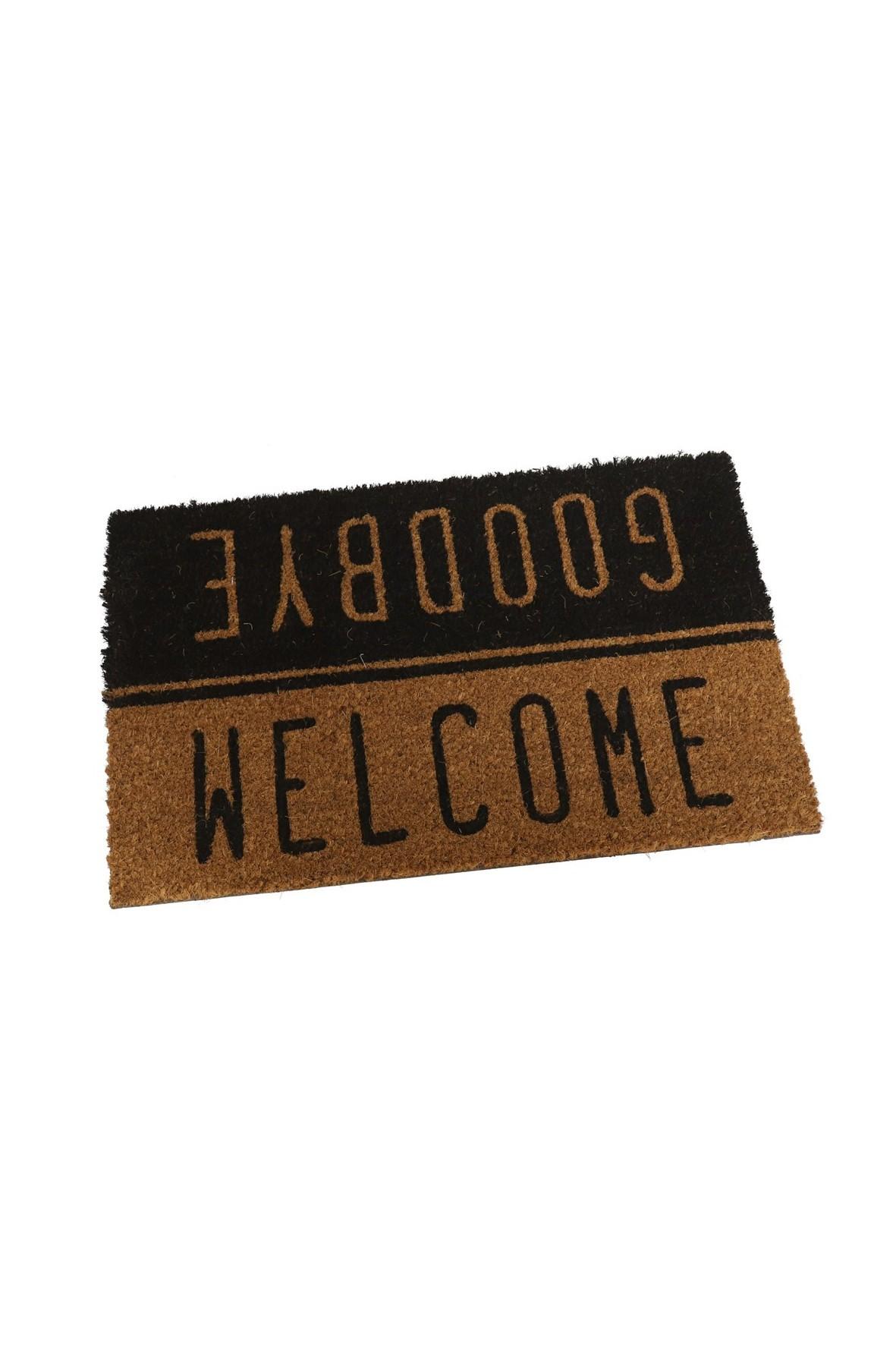 Wycieraczka prostokątna - Welcome/ Goodbye 60x40 cm