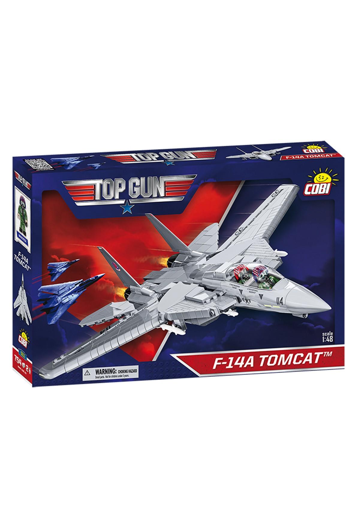 Klocki COBI 5811 TOP-GUN F-14A Tomcat - 754 elementy wiek 7+