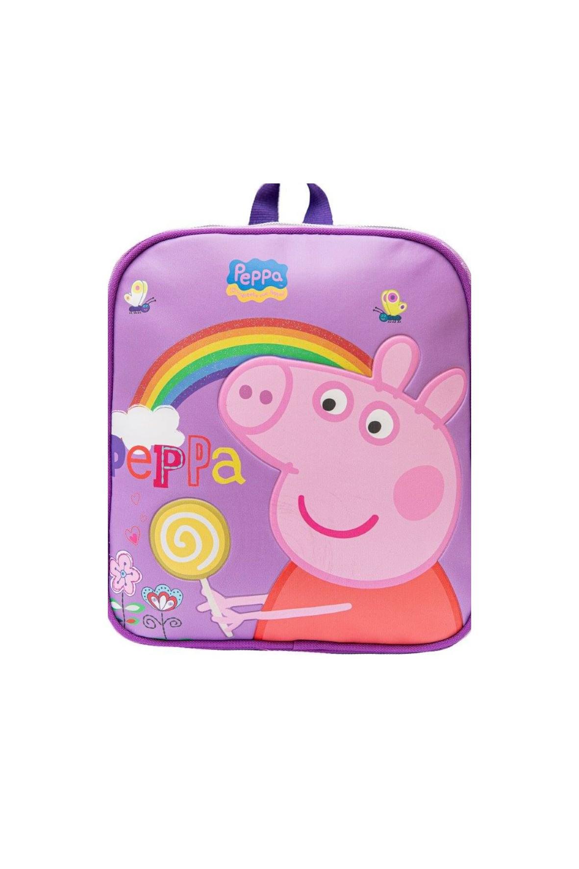 Plecak dziewczęcy - różowy  Świnka Peppa