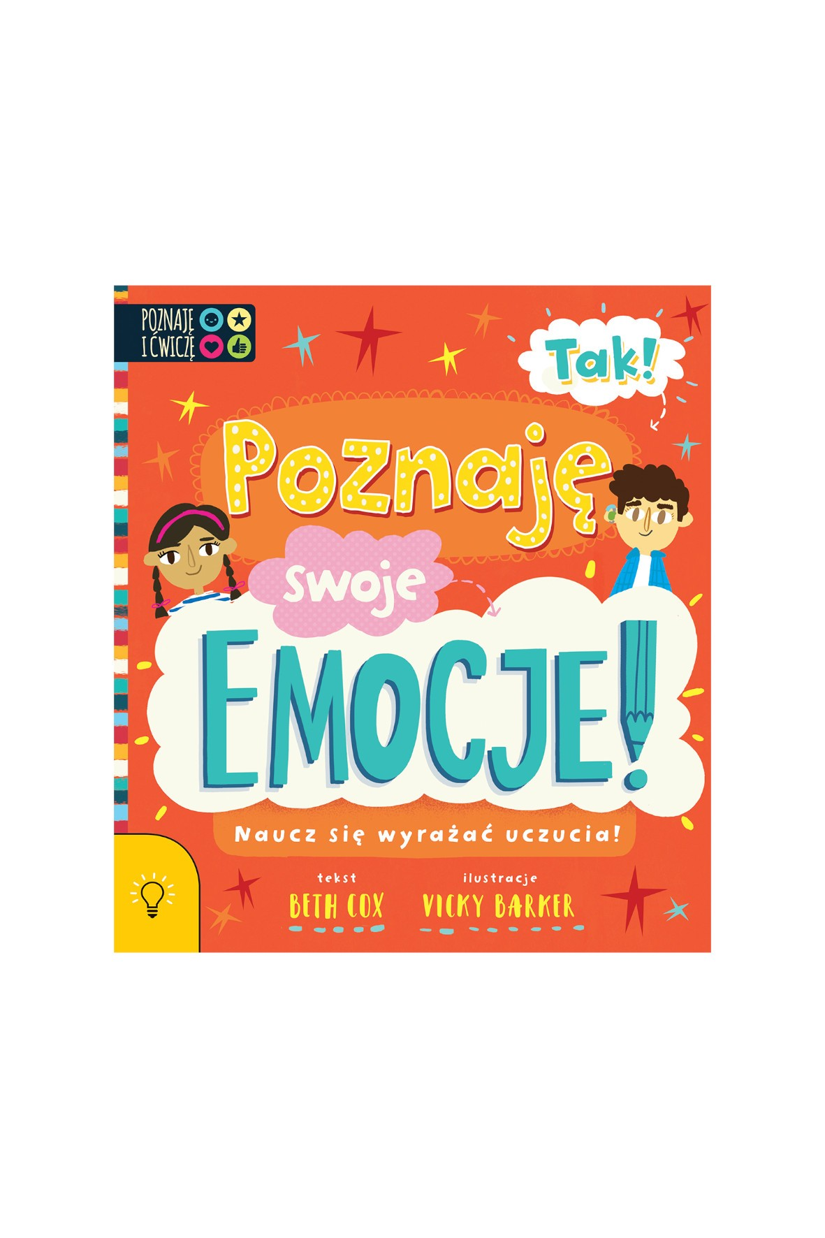 TAK! Poznaję swoje Emocje! - książka dla dzieci