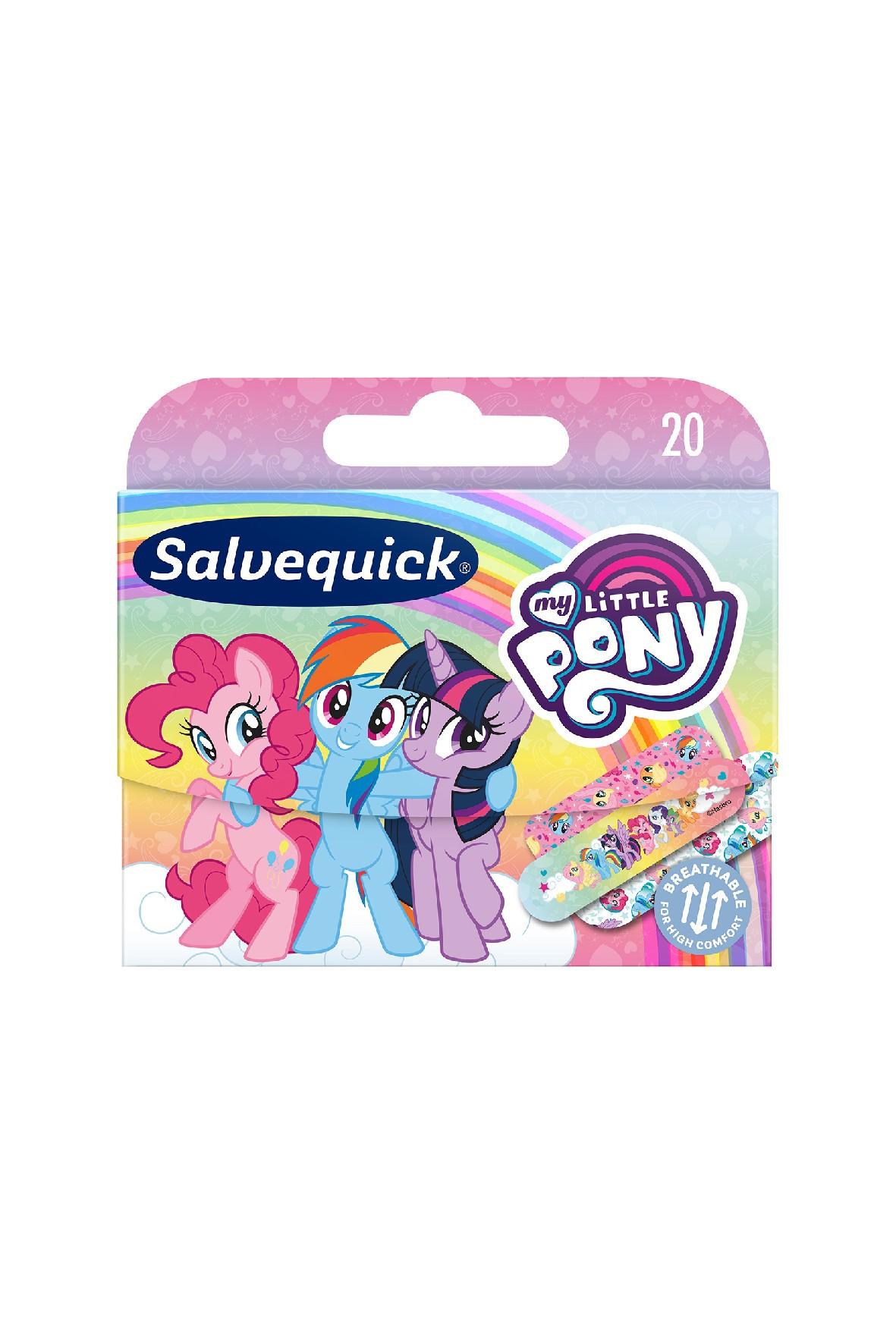 Salvequick KIDS plastry opatrunkowe My little pony 20 szt.