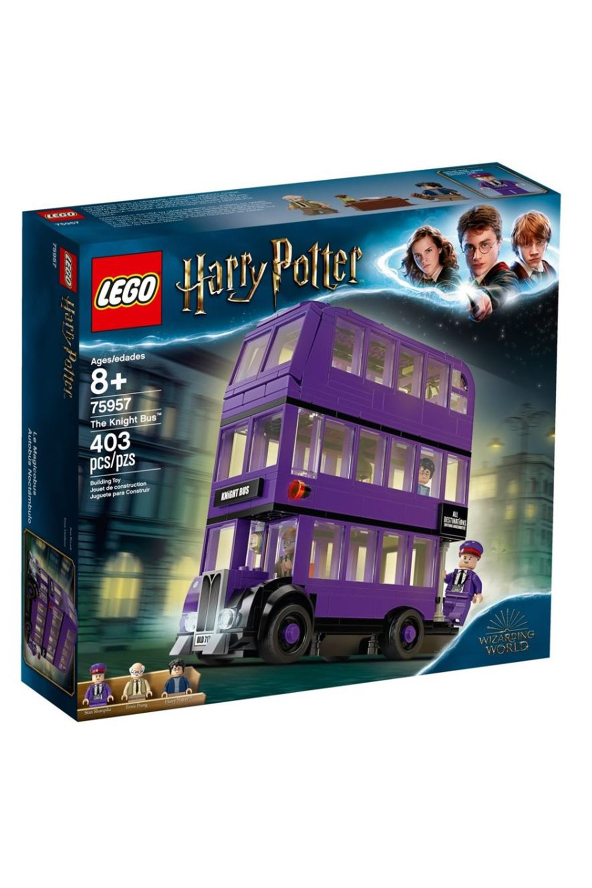Lego Harry Potter - Błędny Rycerz - 403 elementy wiek 8+