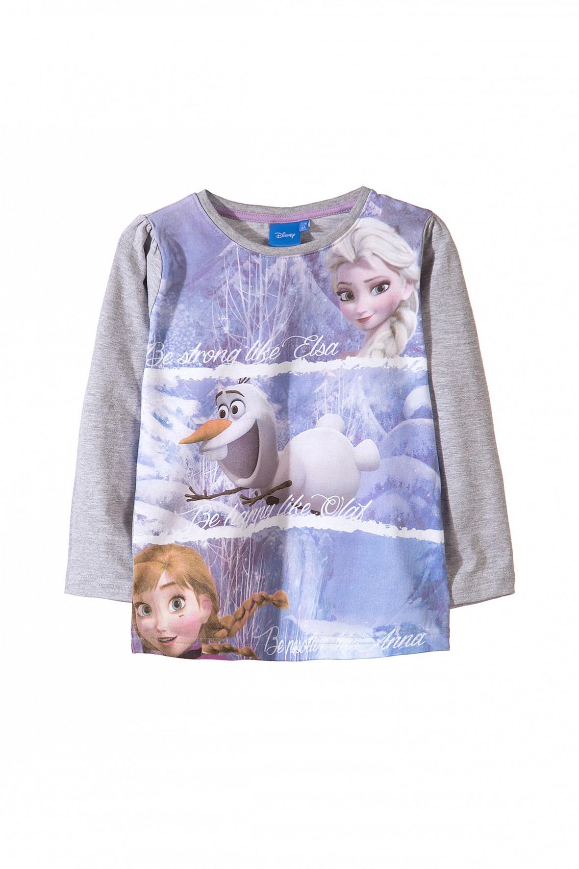 Bluzka dziewczęca Kraina Lodu 3H31A6