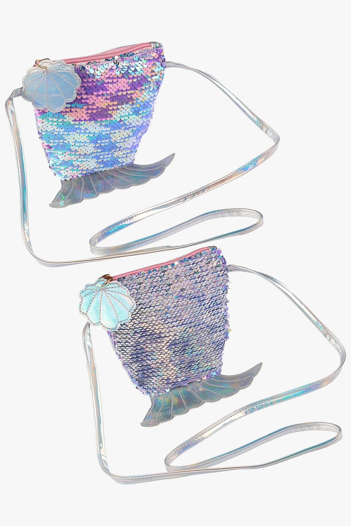 Torebka dla dziewczynki- holograficzne cekiny
