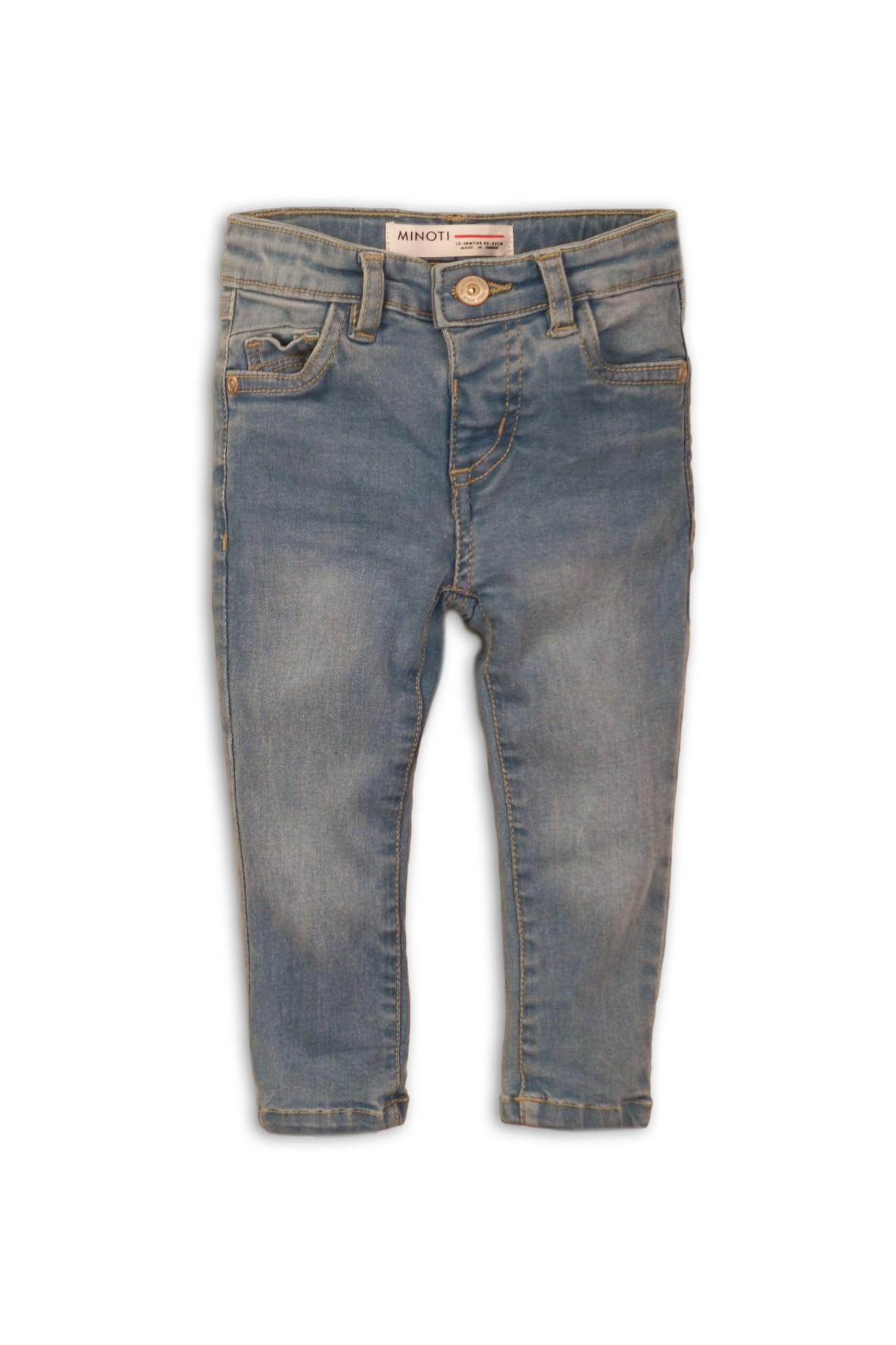 Jeansy dla dziewczynki- niebieskie