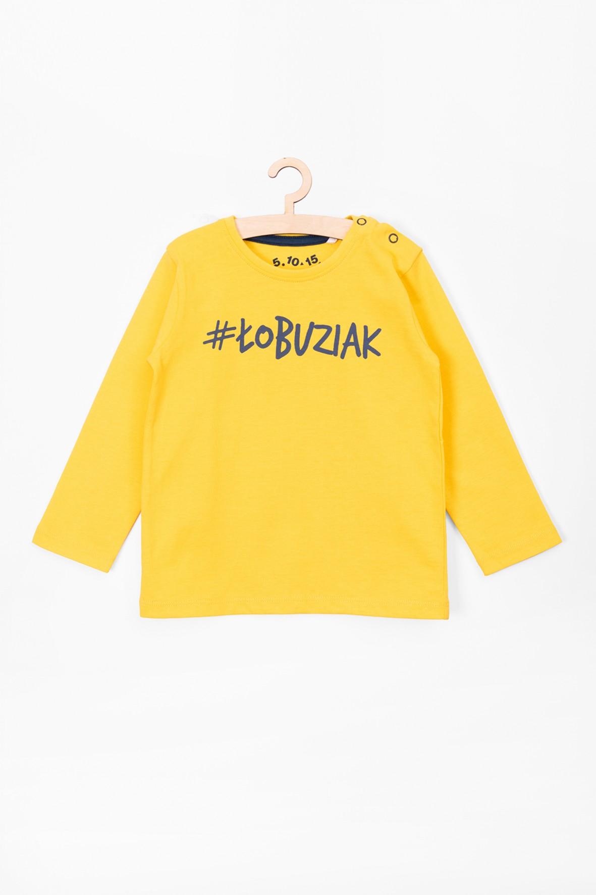 Bluzka bawełniana dla niemowlaka #Łobuziak