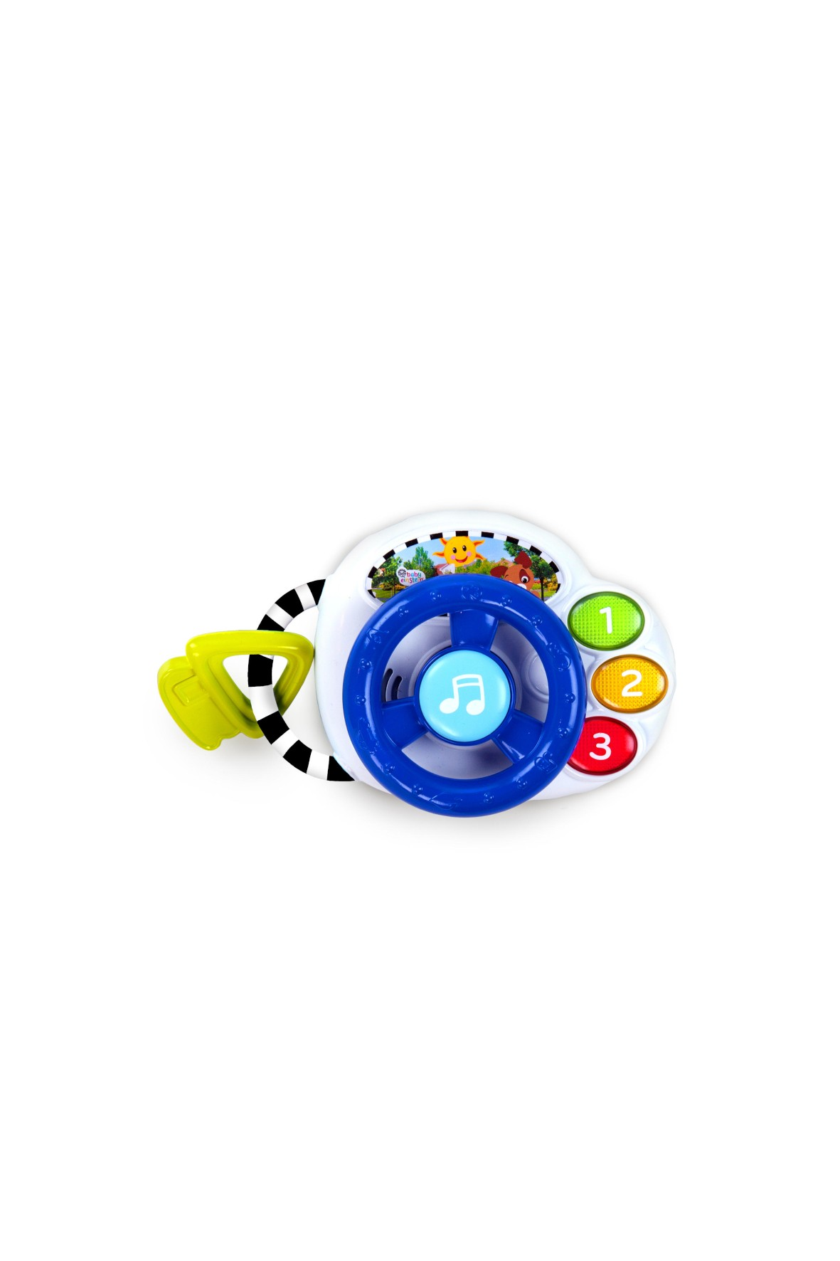 Muzyczna mini podróż- zabawka dla niemowlaka wiek 3msc+