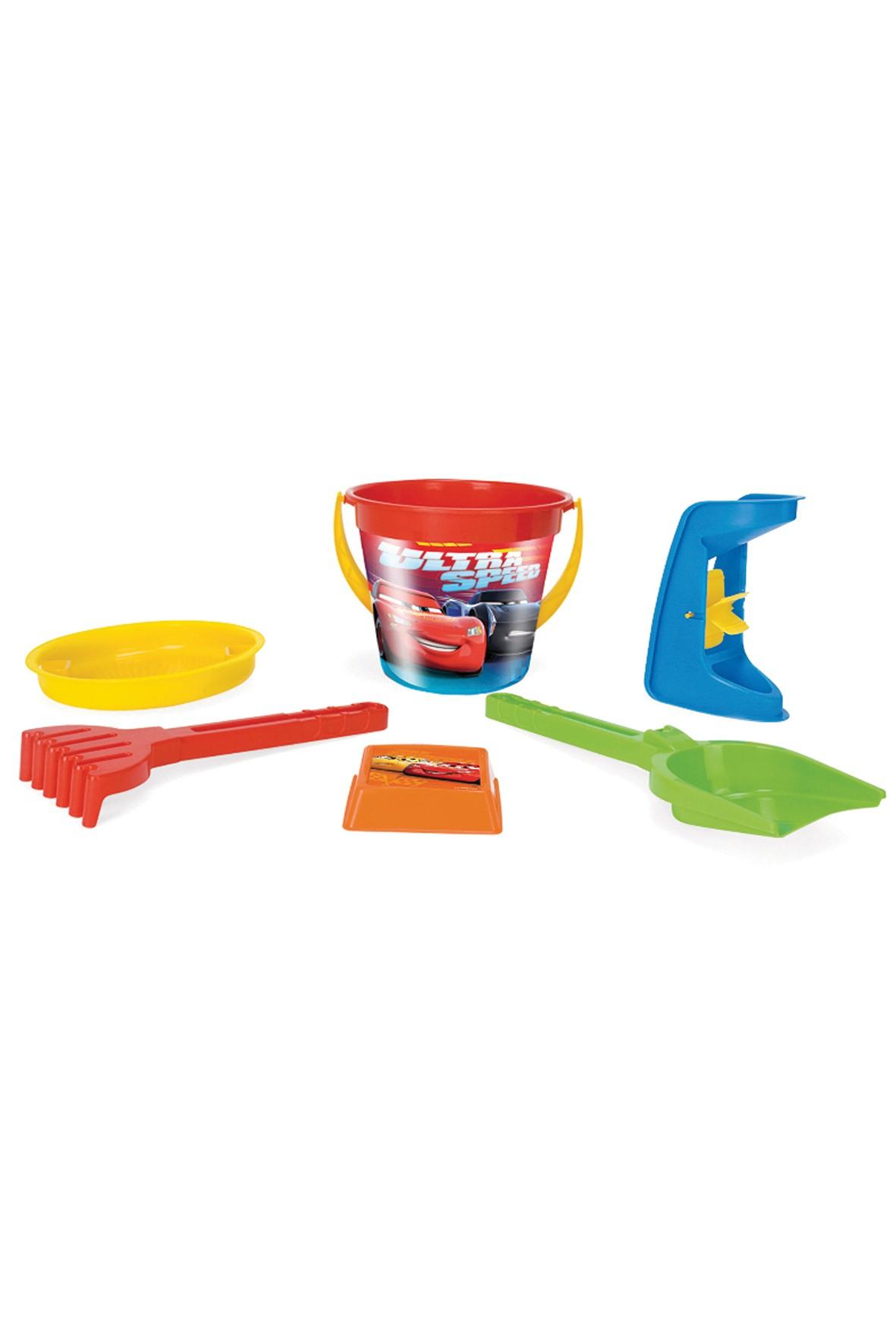 Cars komplet zabawek do piasku - 6 elementów\