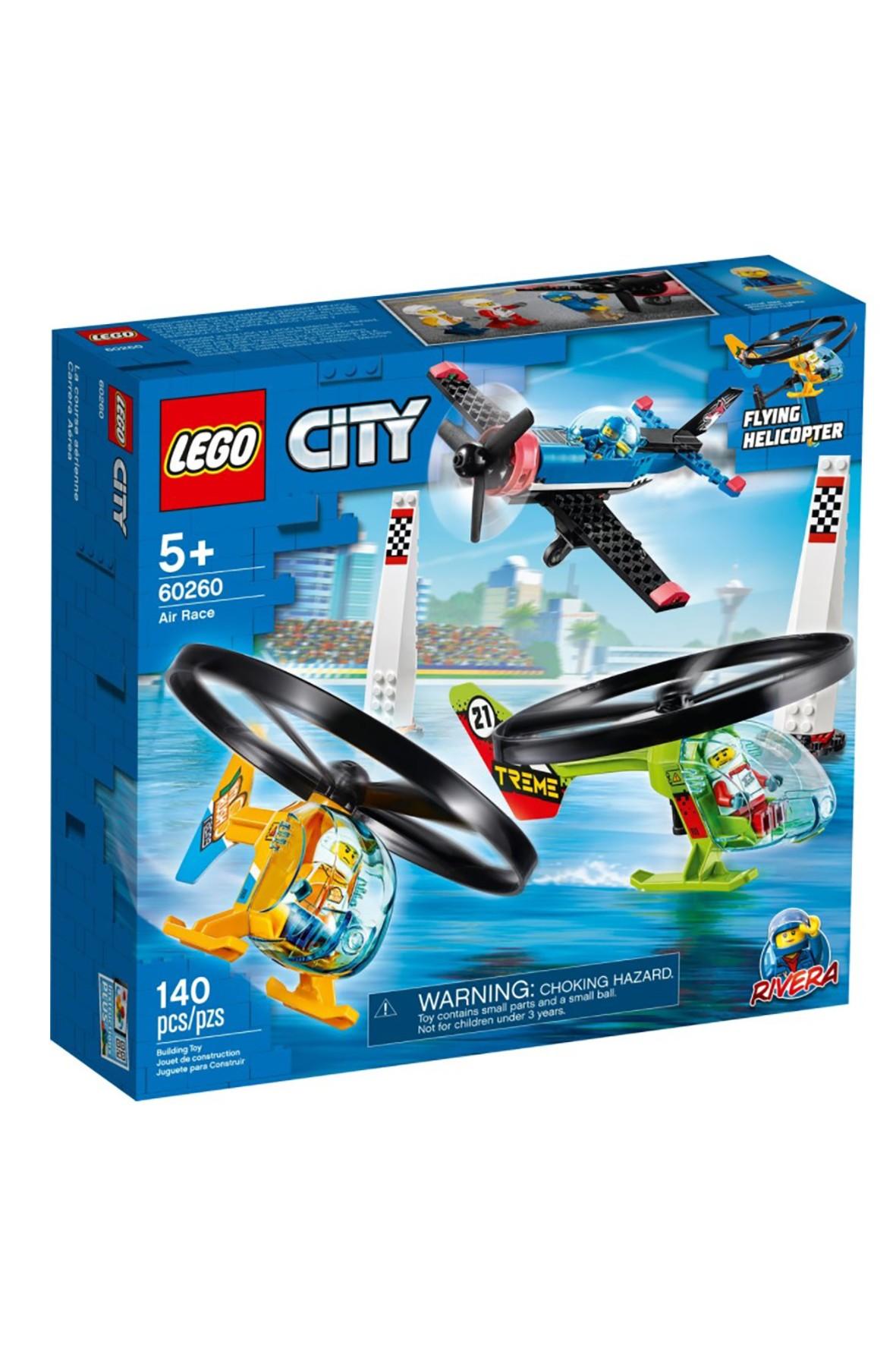 Lego City 60260 - Powietrzny wyścig - 140 el wiek 5+