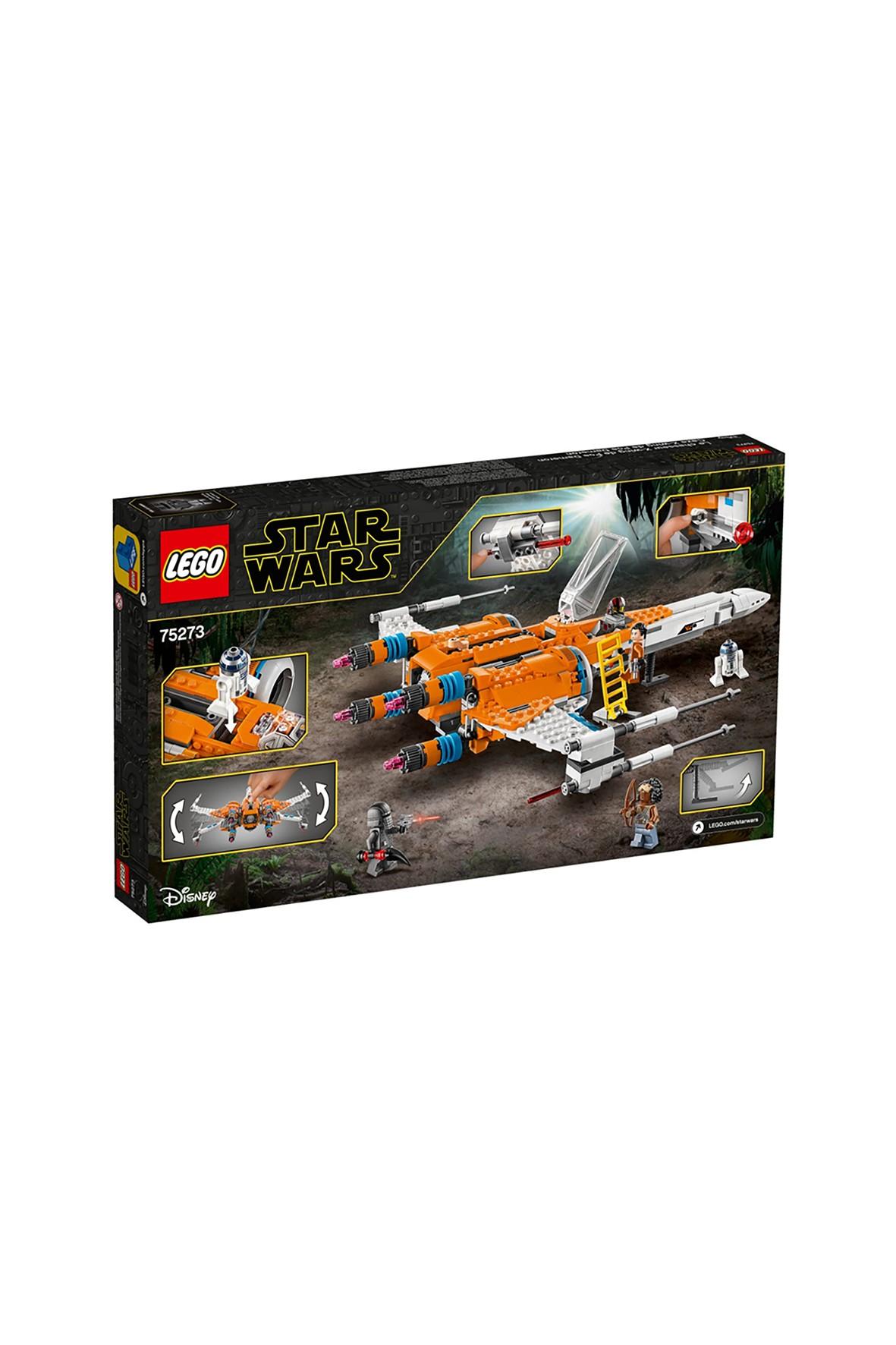 LEGO® STAR WARS Myśliwiec X-Wing Poe Damerona™ wiek 9+