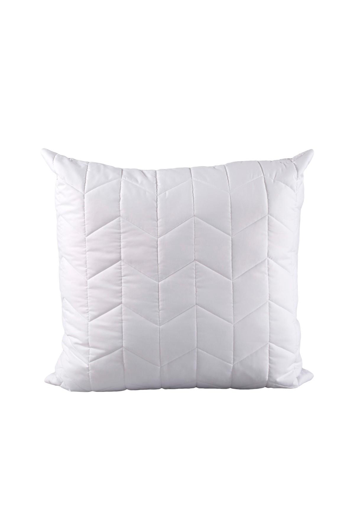 Poduszka SEVERA 70/80 cm  antybakteryjna w kolorze białym