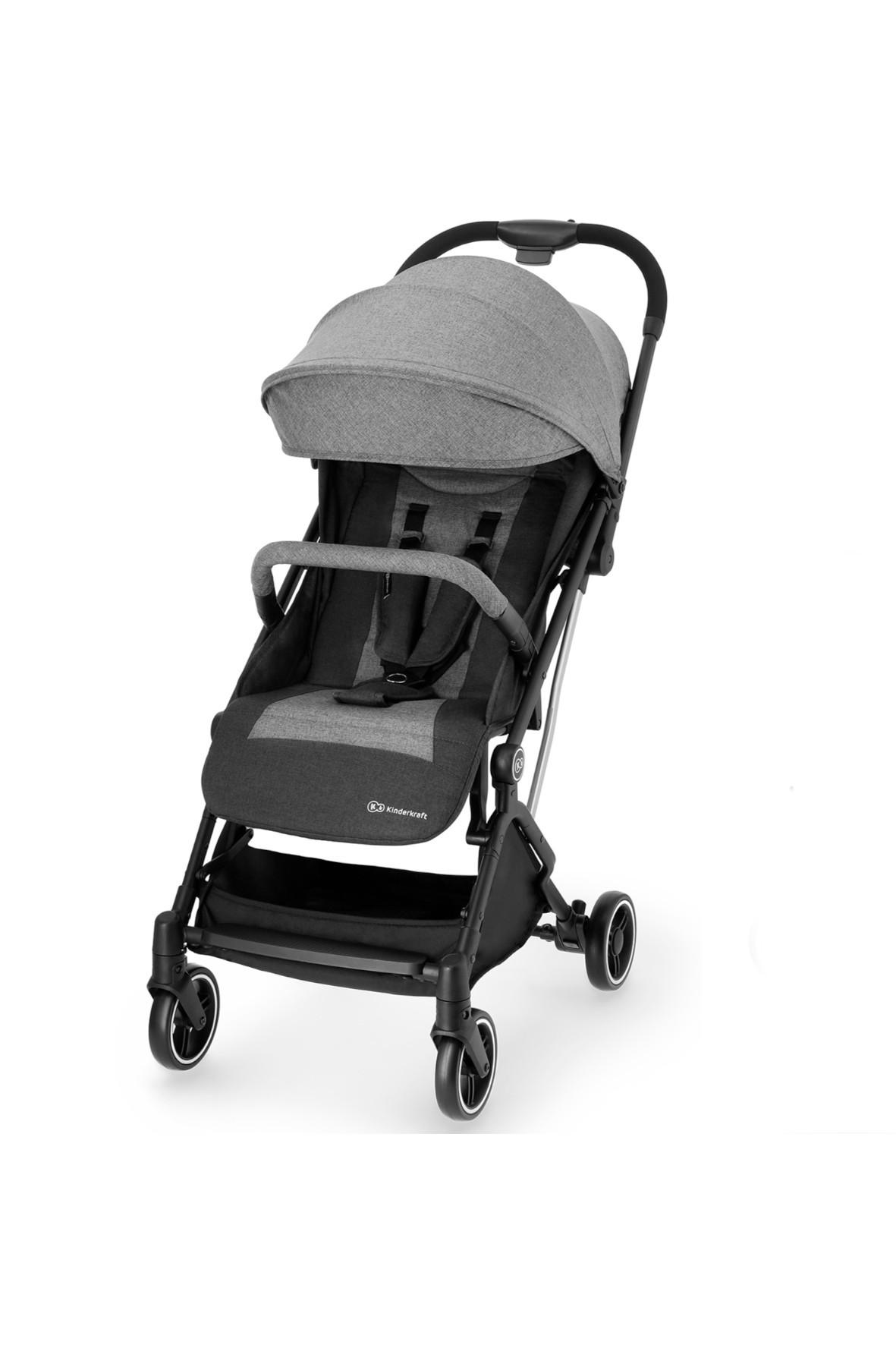 Kinderkraft wózek spacerowy Indy szary do 15kg