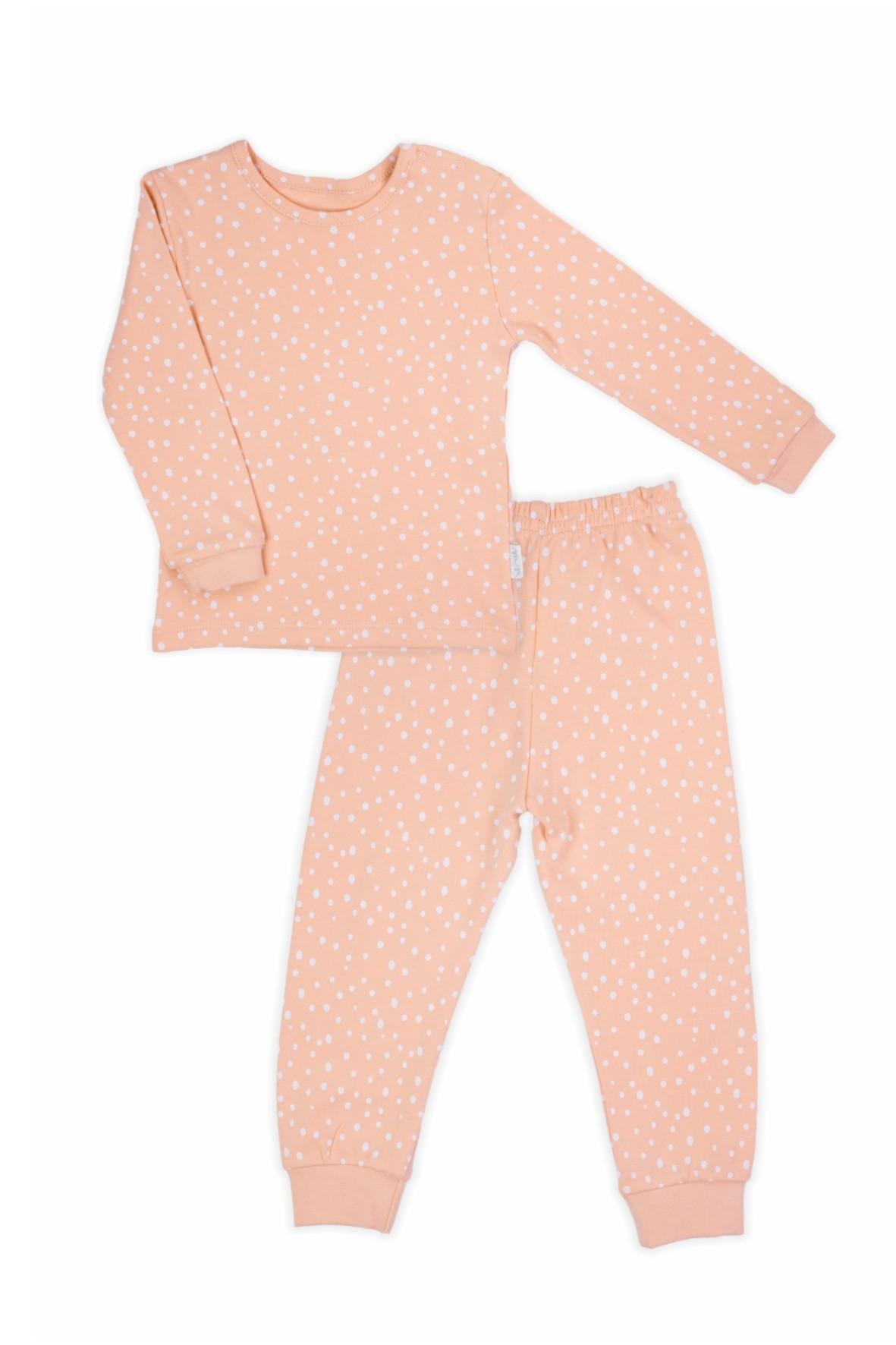 Piżama dwuczęściowa długi rękaw dla dziewczynki