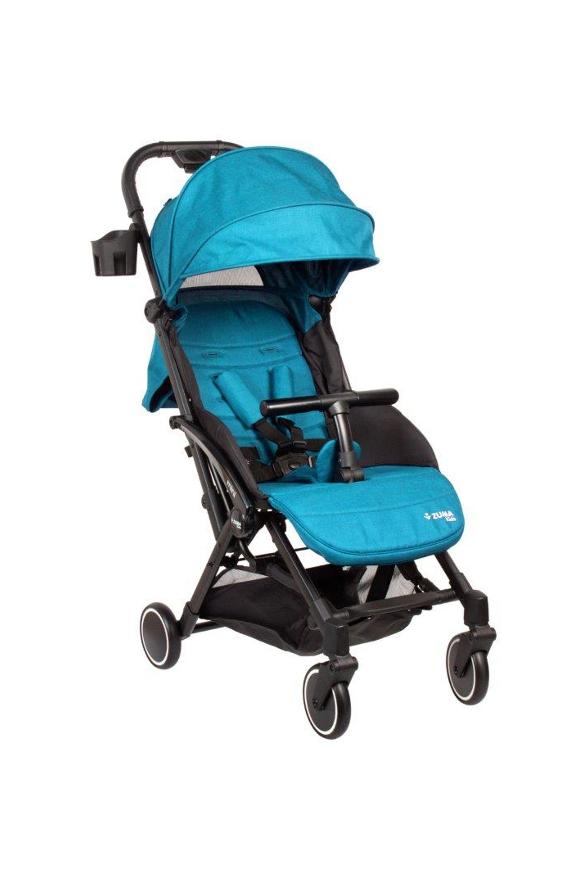 Wózek spacerowy Zuma Kids Mini-niebieski 6-36msc