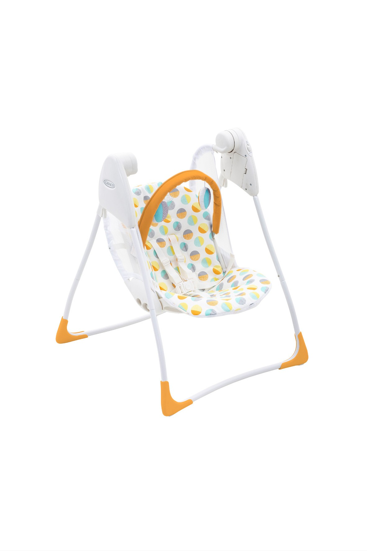 Huśtawka Graco Baby Delight 80's Circles 0-9msc
