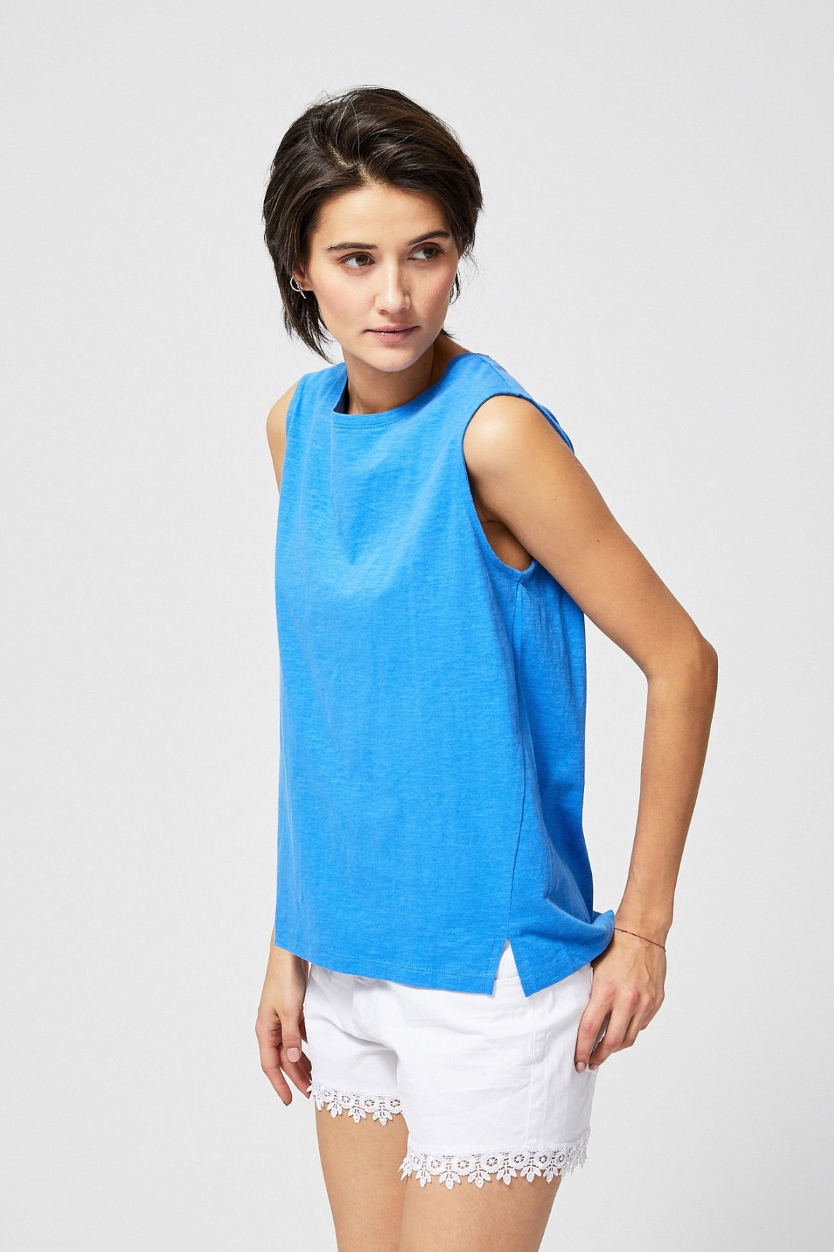 Bluzka bawełniana damska - top