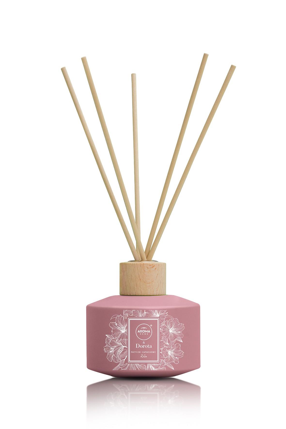 Aroma Home & Dorota Patyczki zapachowe Róża 100ml