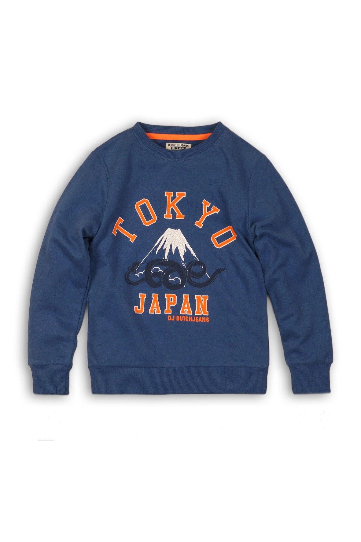 Bluza chłopięca nierozpinana- niebieska Tokyo