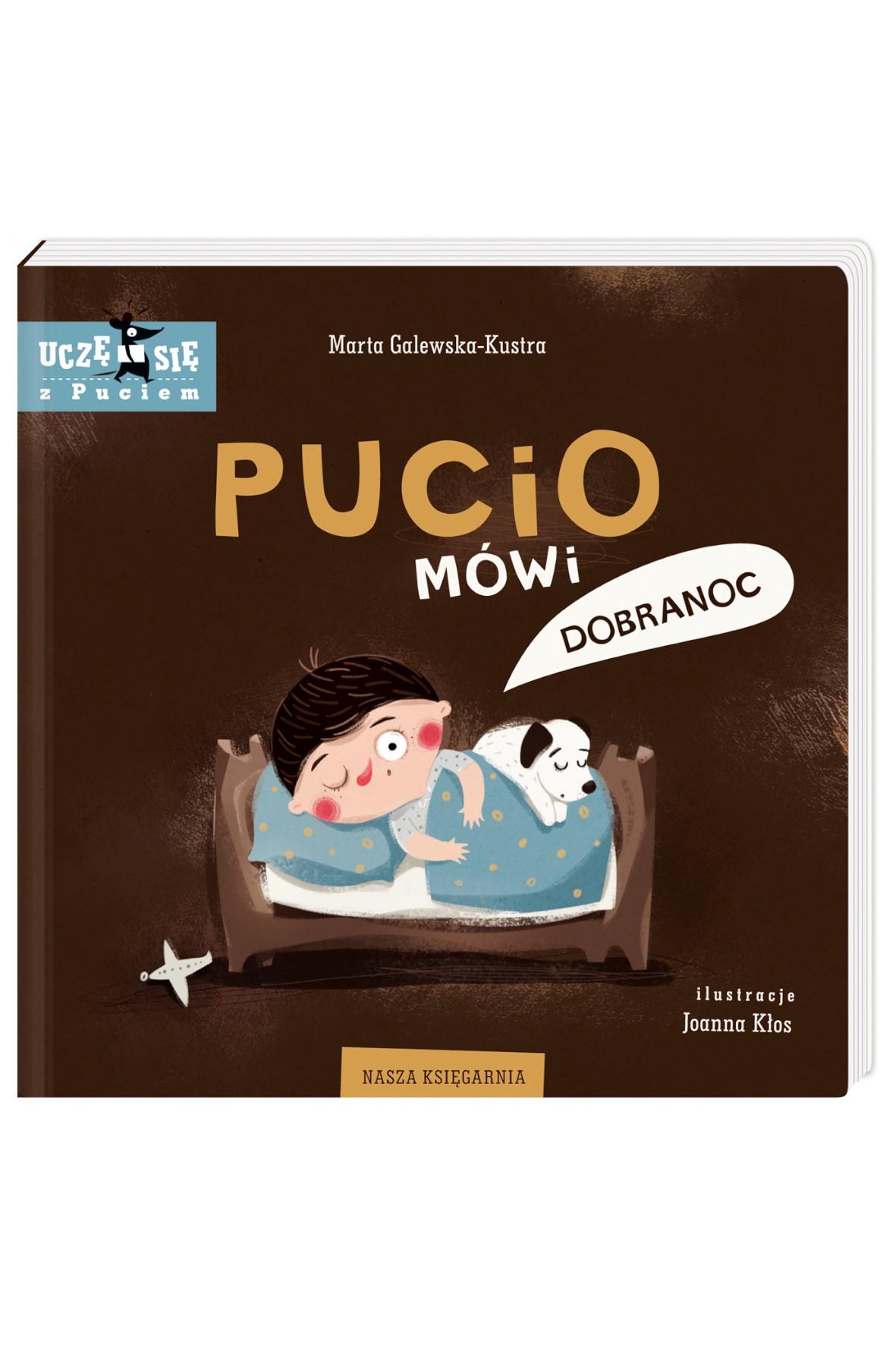 "Książka ""Pucio mówi dobranoc"""