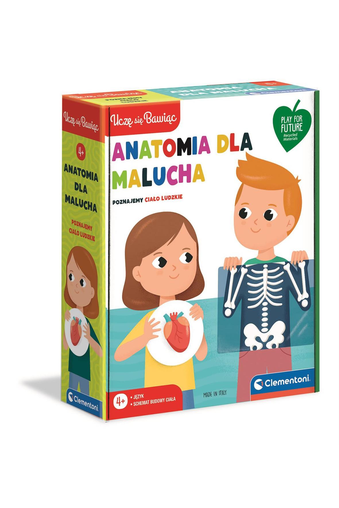 Puzzle Anatomia dla malucha wiek 4+