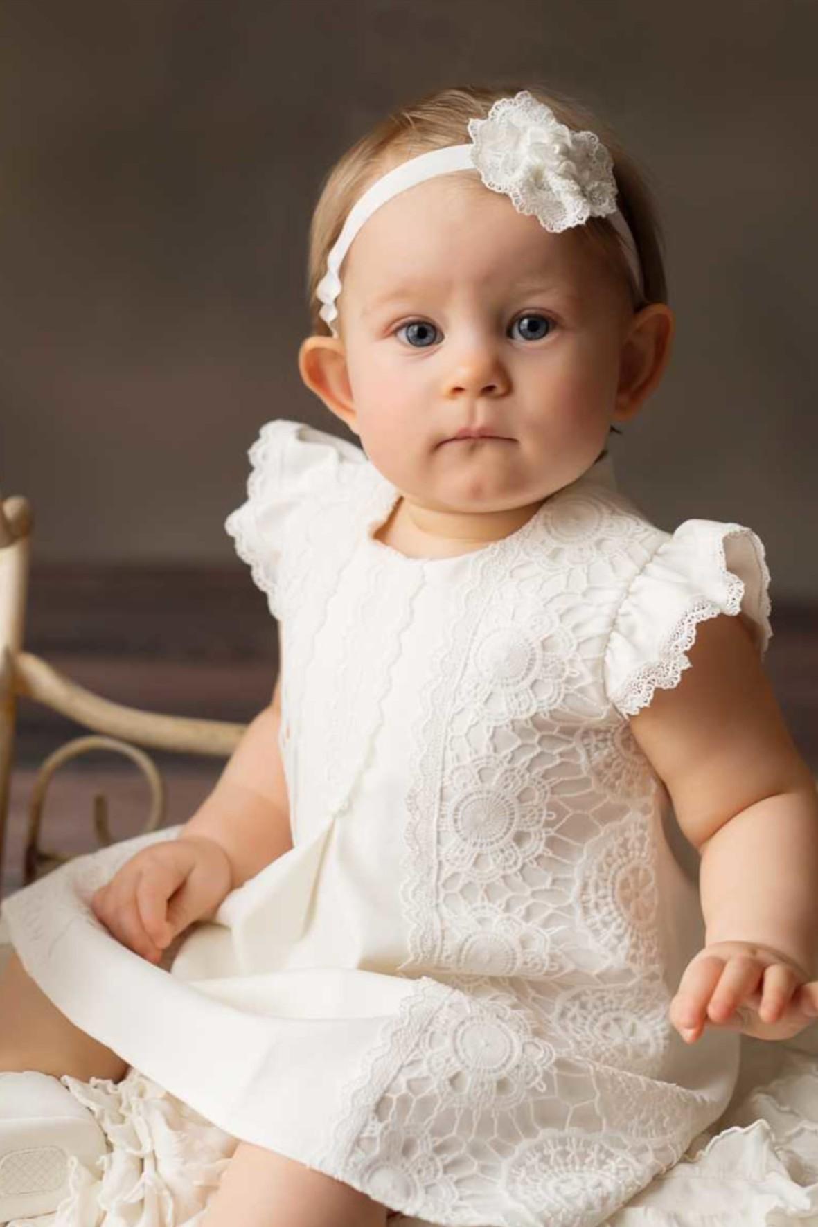 Sukienka niemowlęca do chrztu-Lori
