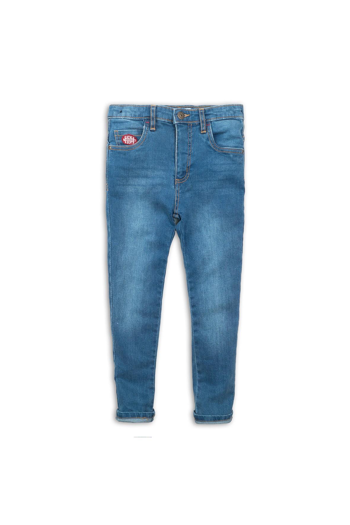Spodnie jeansowe niebieskie rozm 92/98