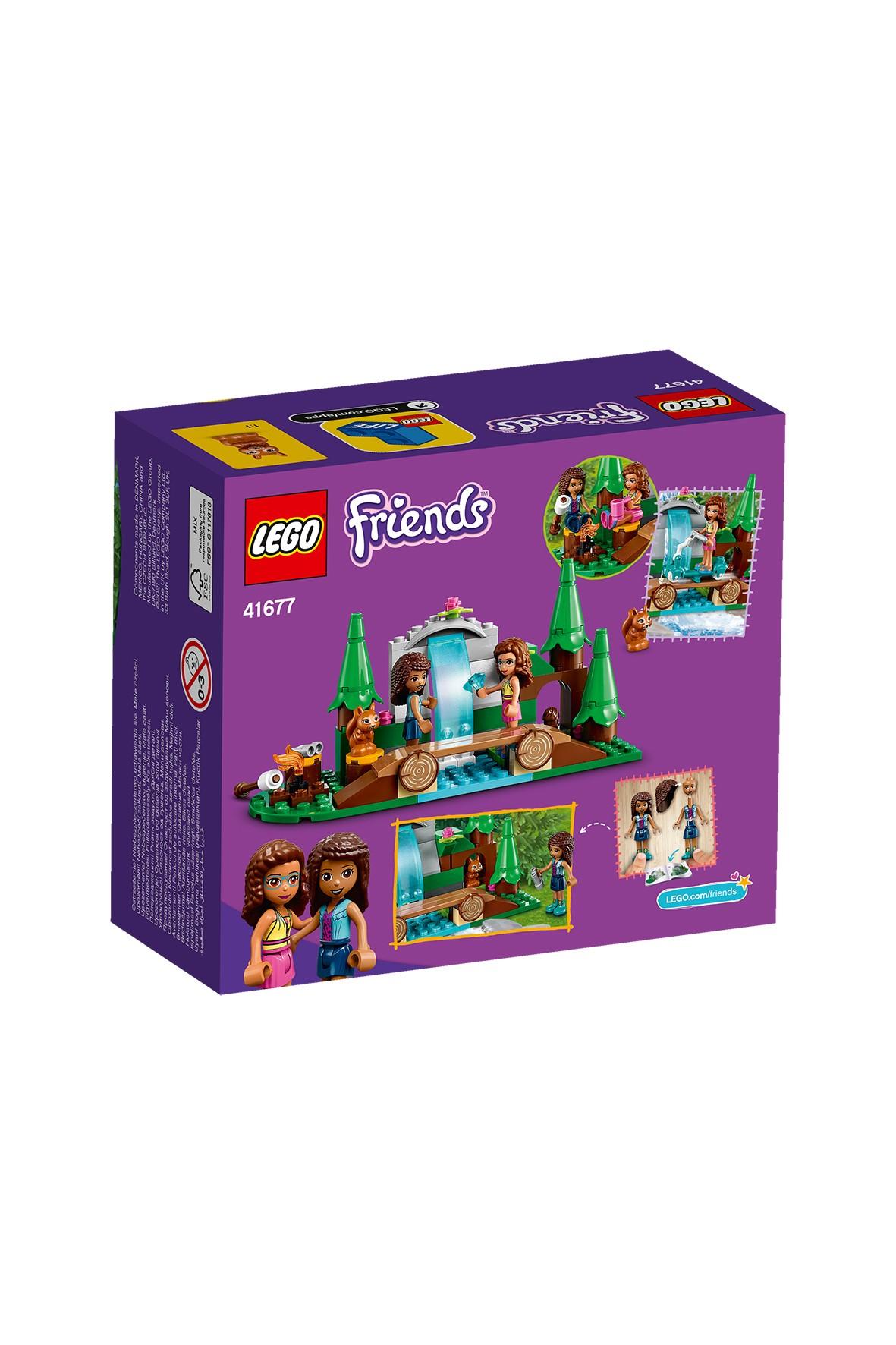 LEGO® Friends Leśny wodospad 41677 - 93 elementy, wiek 5+
