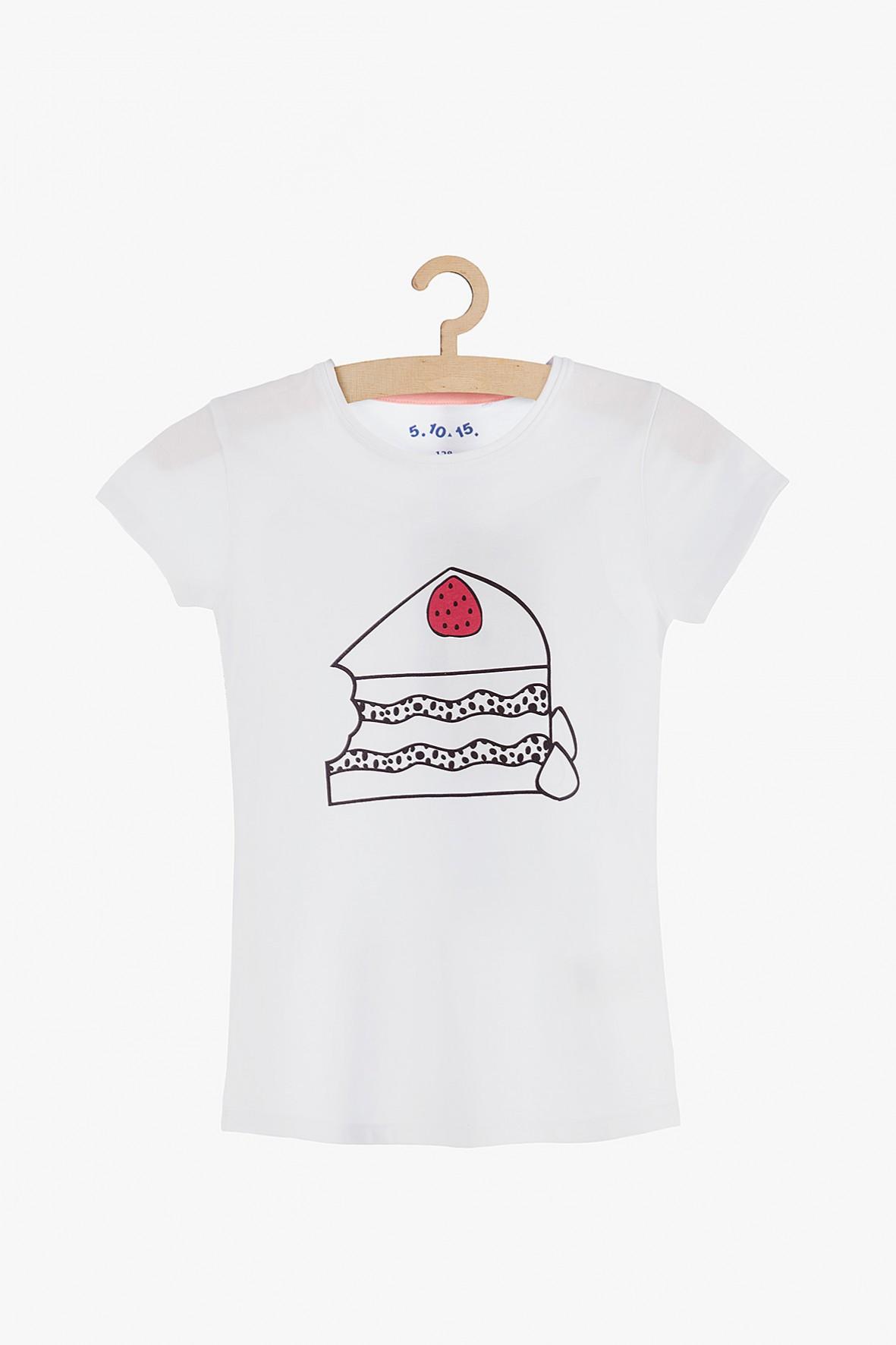 """T-shirt dziewczęcy """"Ciasto"""""""