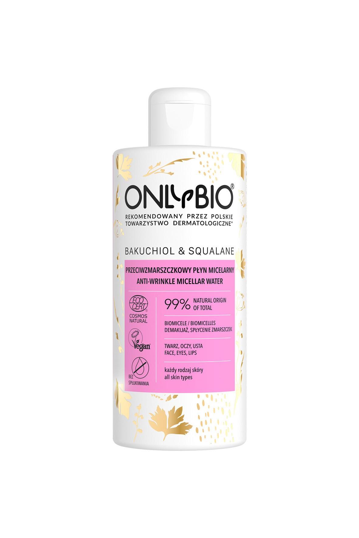 Płyn micelary przeciwzmarszczkowy OnlyBio 300ml
