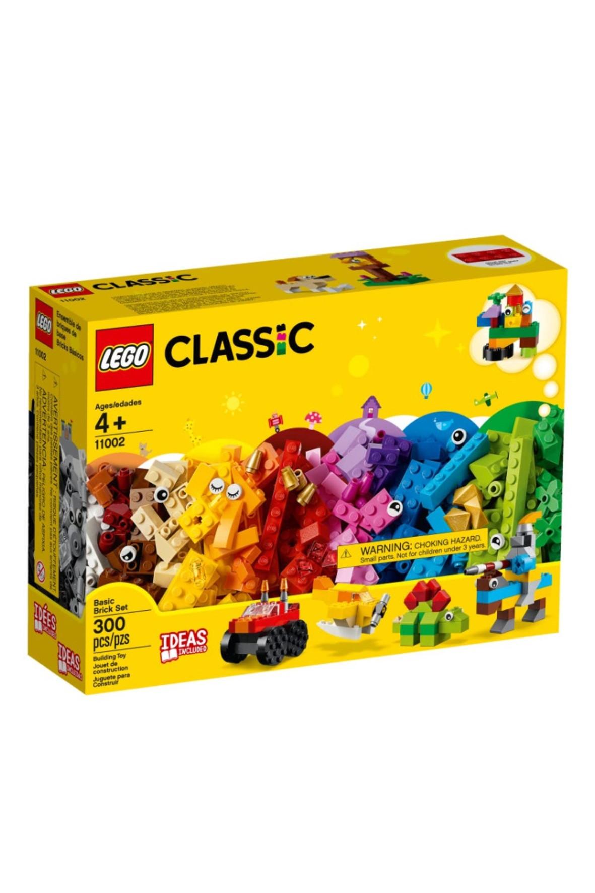Klocki Lego Classic 11002  Podstawowe klocki - 300 elementów wiek 4+