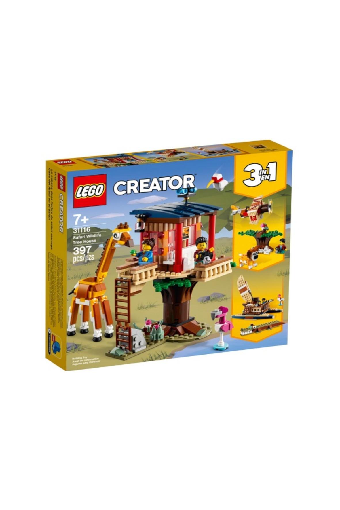 LEGO Creator -  Domek na drzewie na safari - 397 el wiek 7+