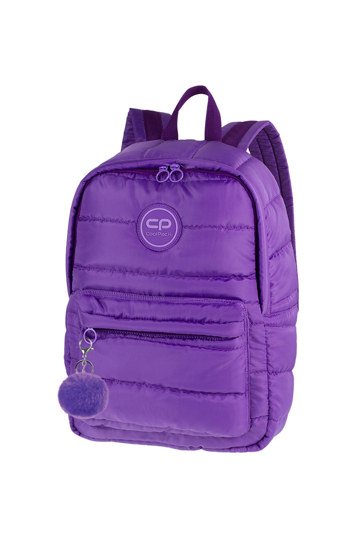 Plecak młodzieżowy Ruby fioletowy pikowany