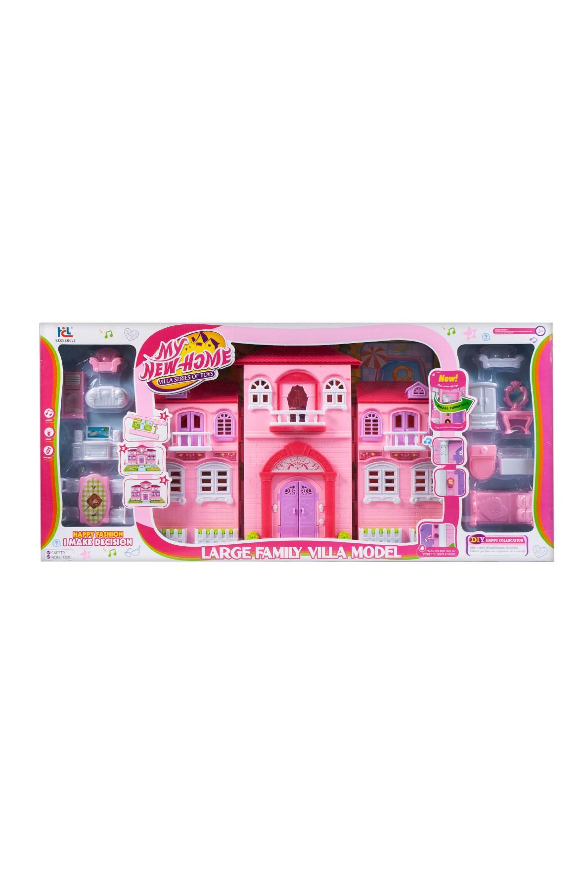 MC Domek dla lalek-zabawka dla dziewczynki 3+