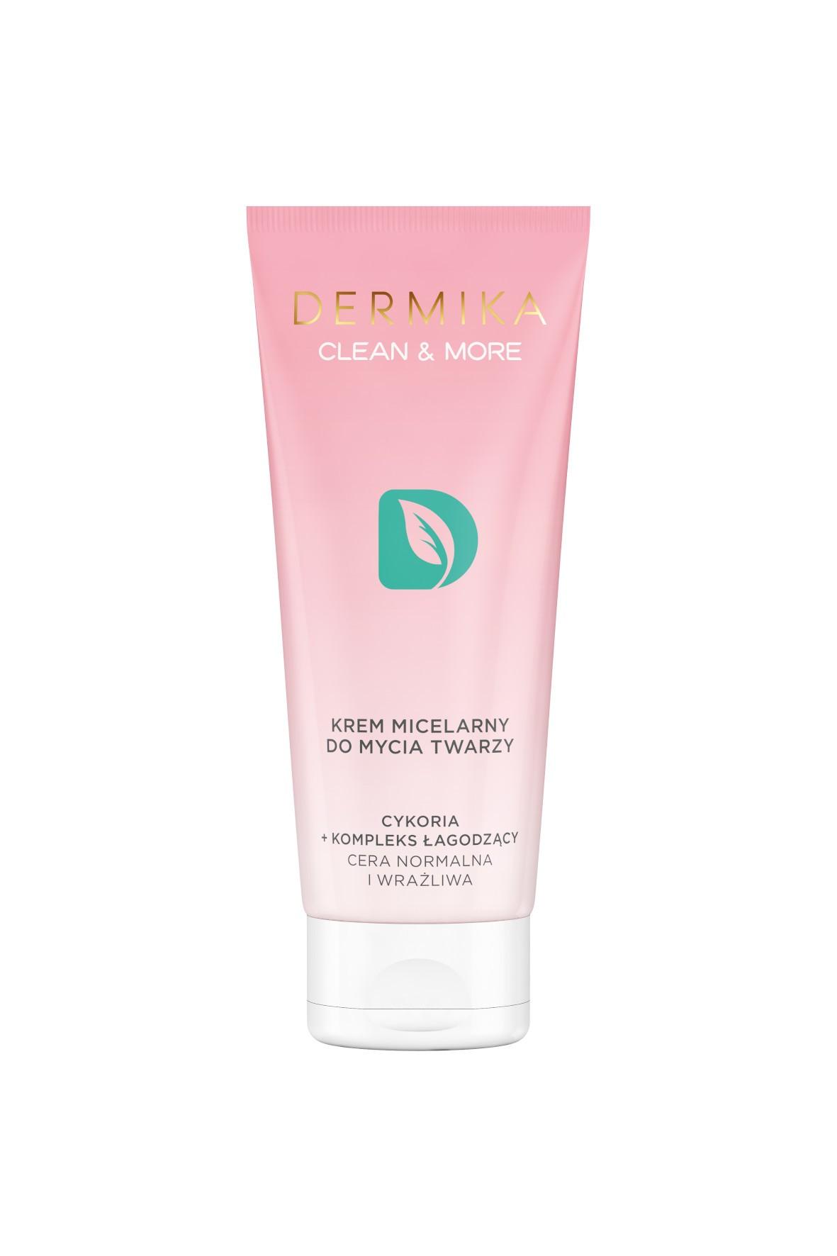 DERMIKA CLEAN&MORE krem micelarny do mycia twarzy  - 150ml