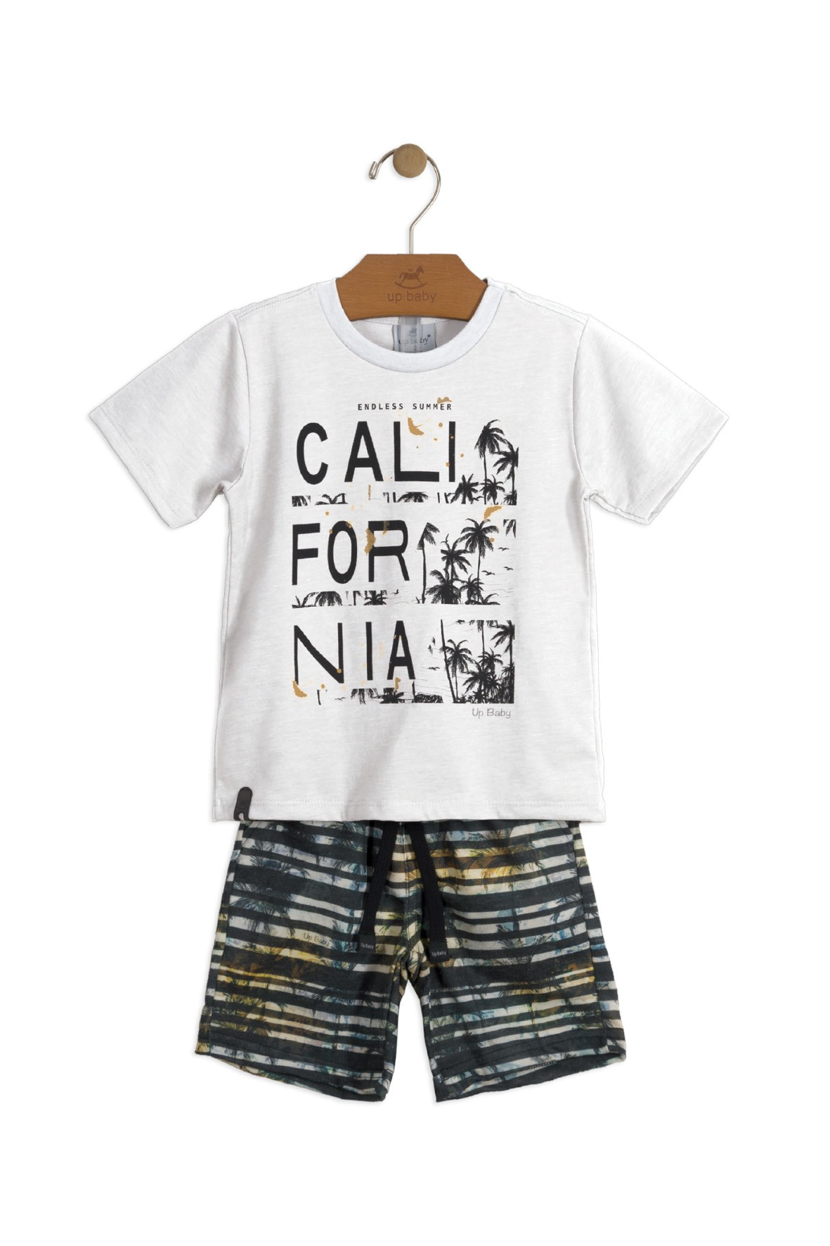 Komplet niemowlęcych ubrań na lato