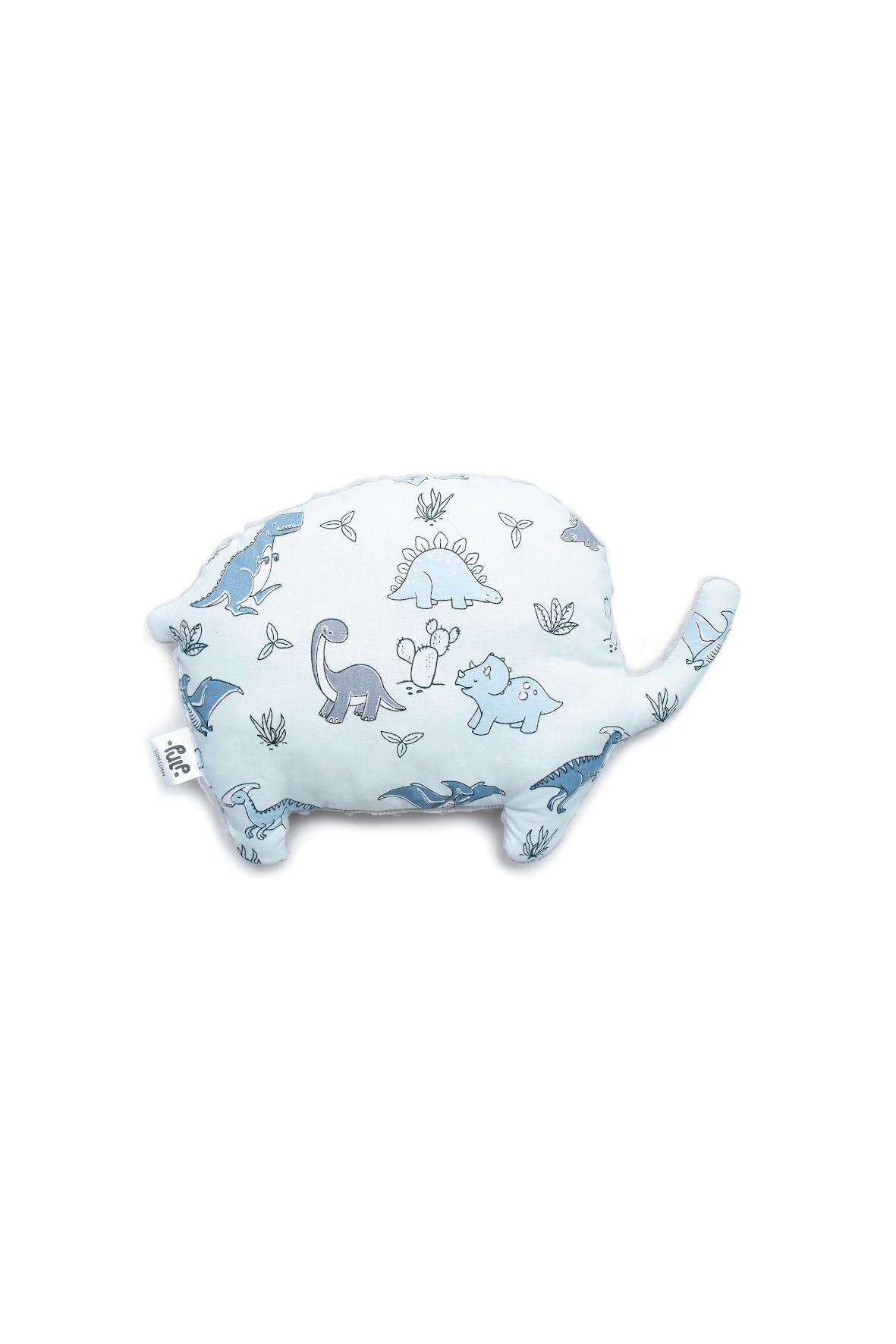 Poduszka Minky, słonik - Era dinozaurów