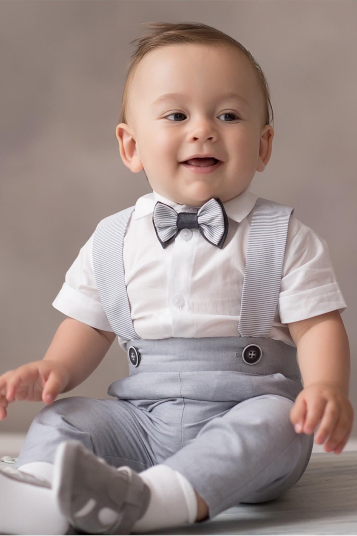 Komplet do chrztu dla chłopca, 3 elementy