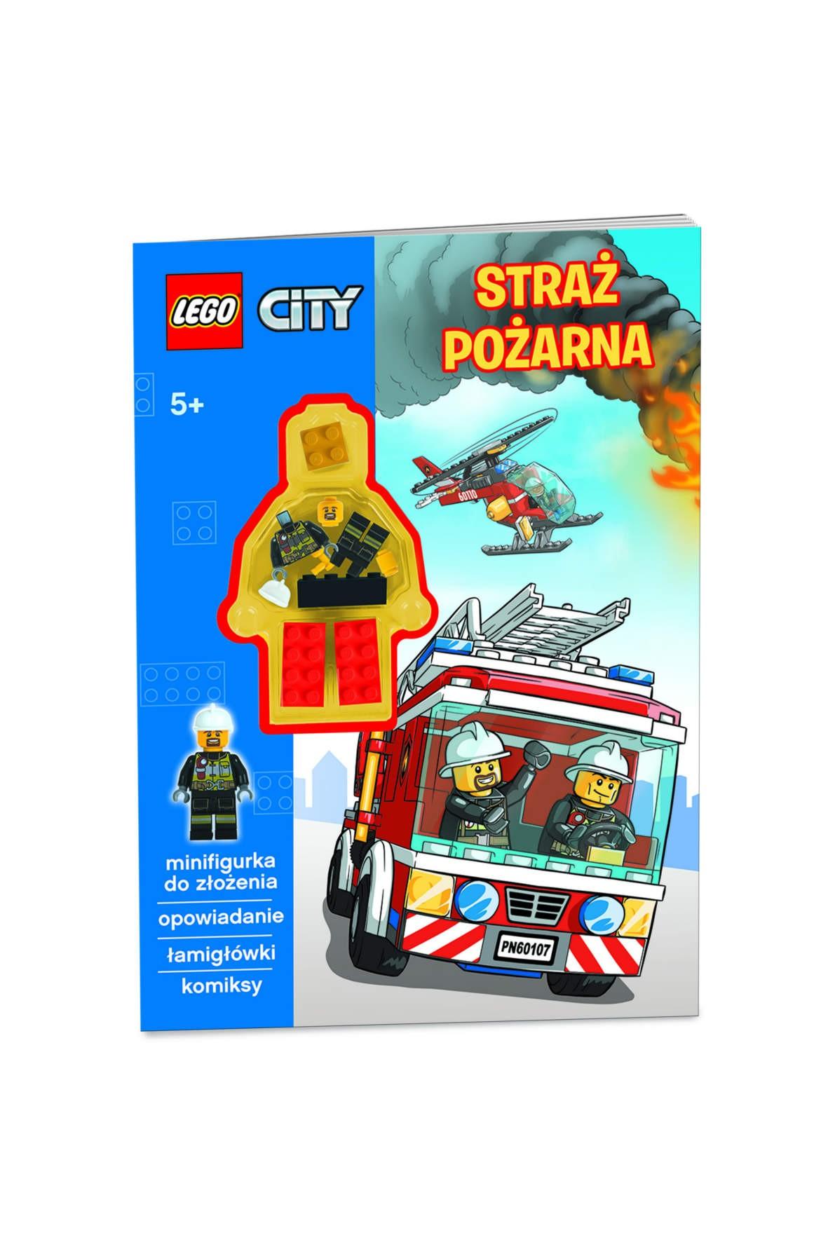 Książka Lego City z minifigurką