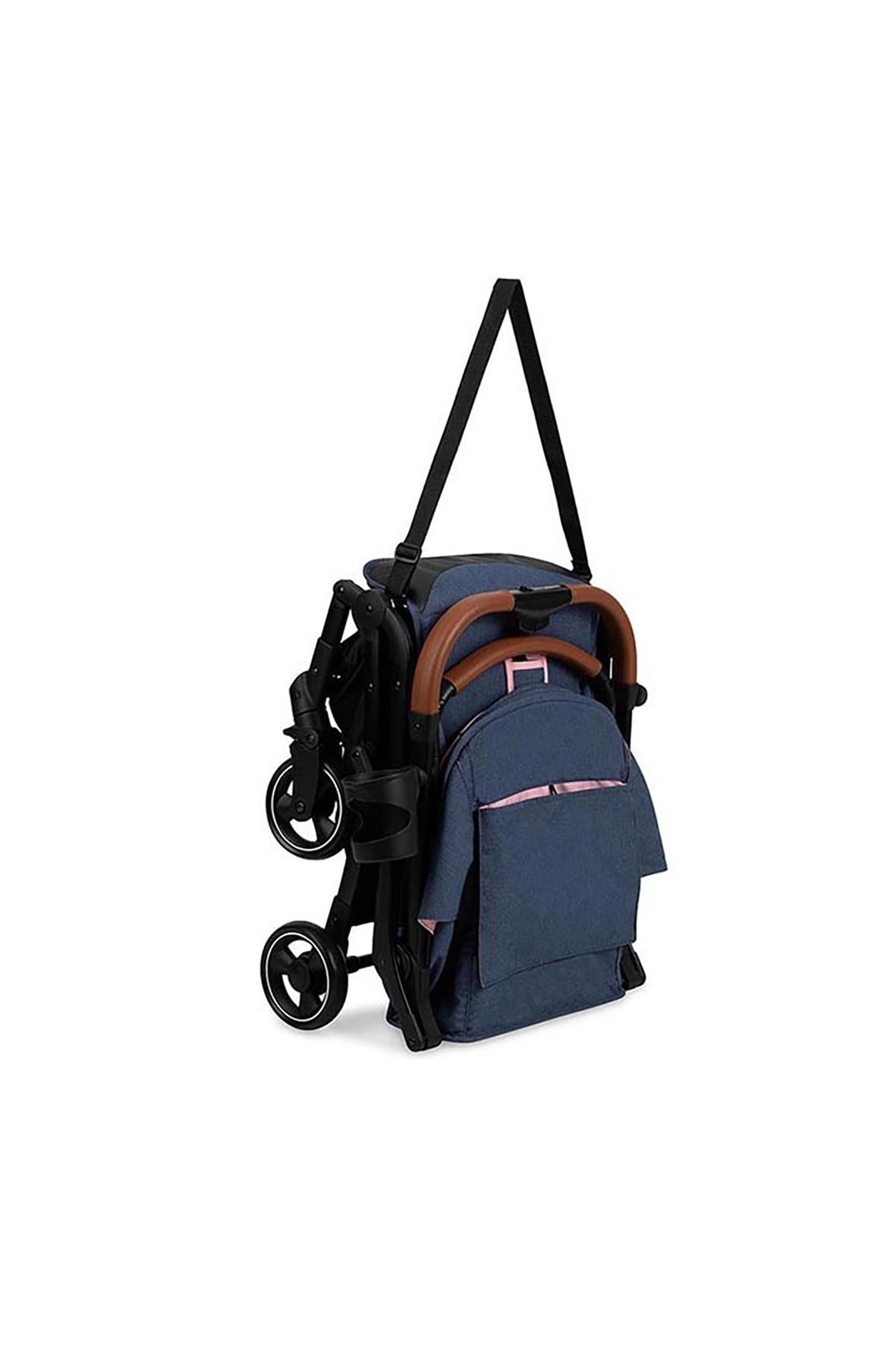 Lekki wózek spacerowy MoMI - różowy od 6msc+