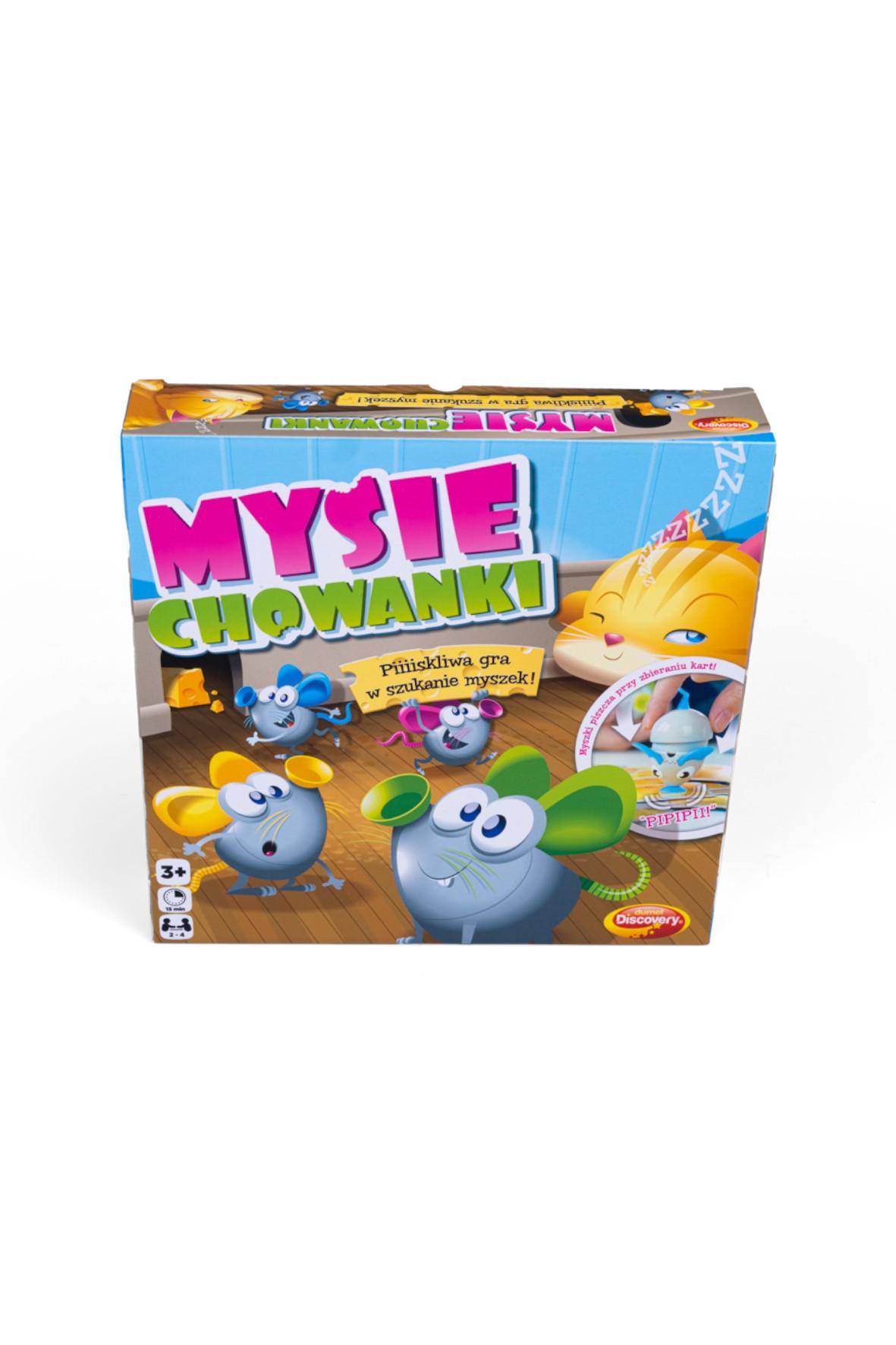 Gra Mysie Chowanki wiek 3+