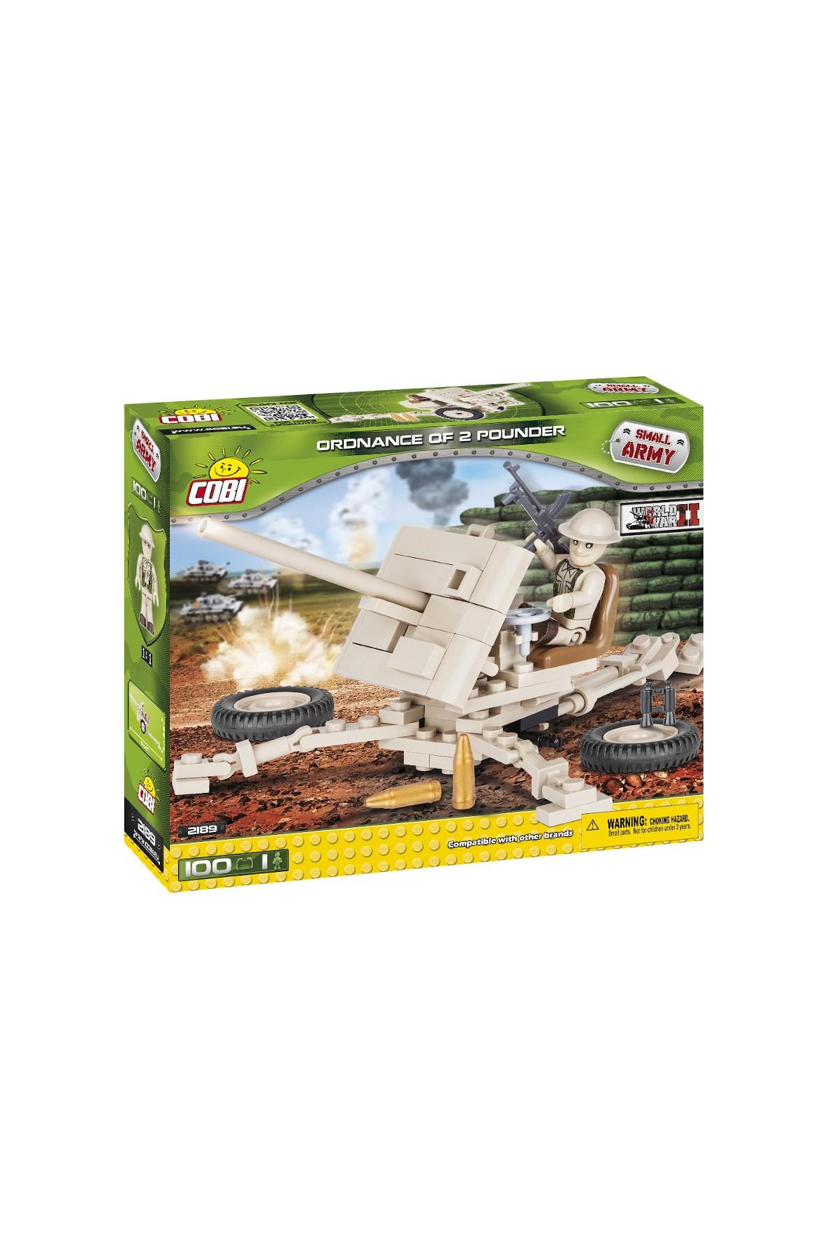 Klocki COBI Small Army Ordnance QF-2 Pounder 100el