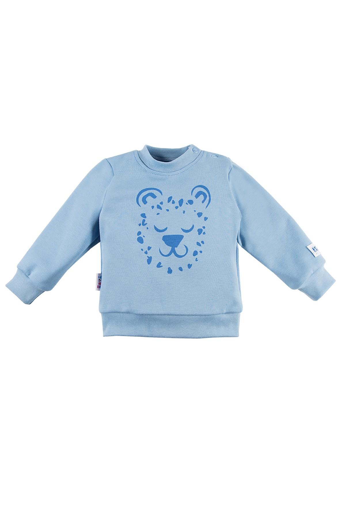 Bluza chłopięca NATURE niebieska